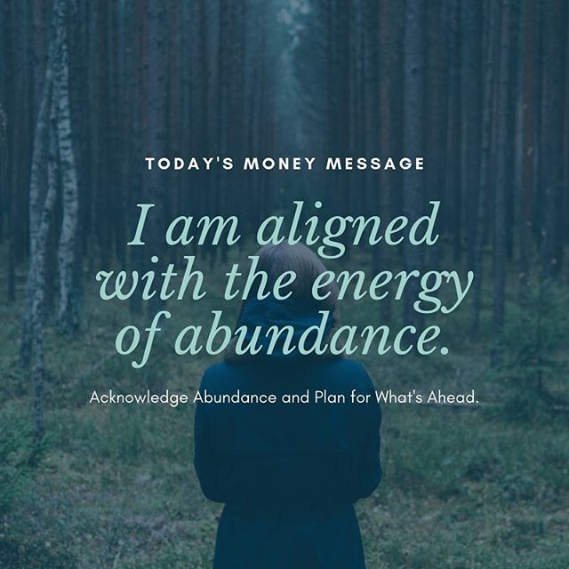 Today's Money Message:⠀ Abundance is all around you. Are you aligned with a scarcity mindset or an abundance mindset?⠀ .⠀ .⠀ .⠀ .⠀ .⠀ #moneymessages #selfimprovement #affirmations #financialadvisor #mindfulmoney