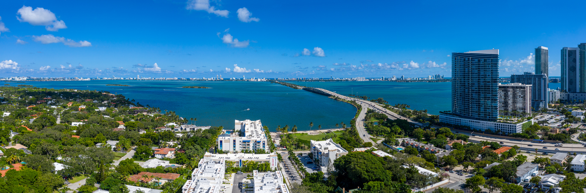 Quadro views of Biscayne Bay