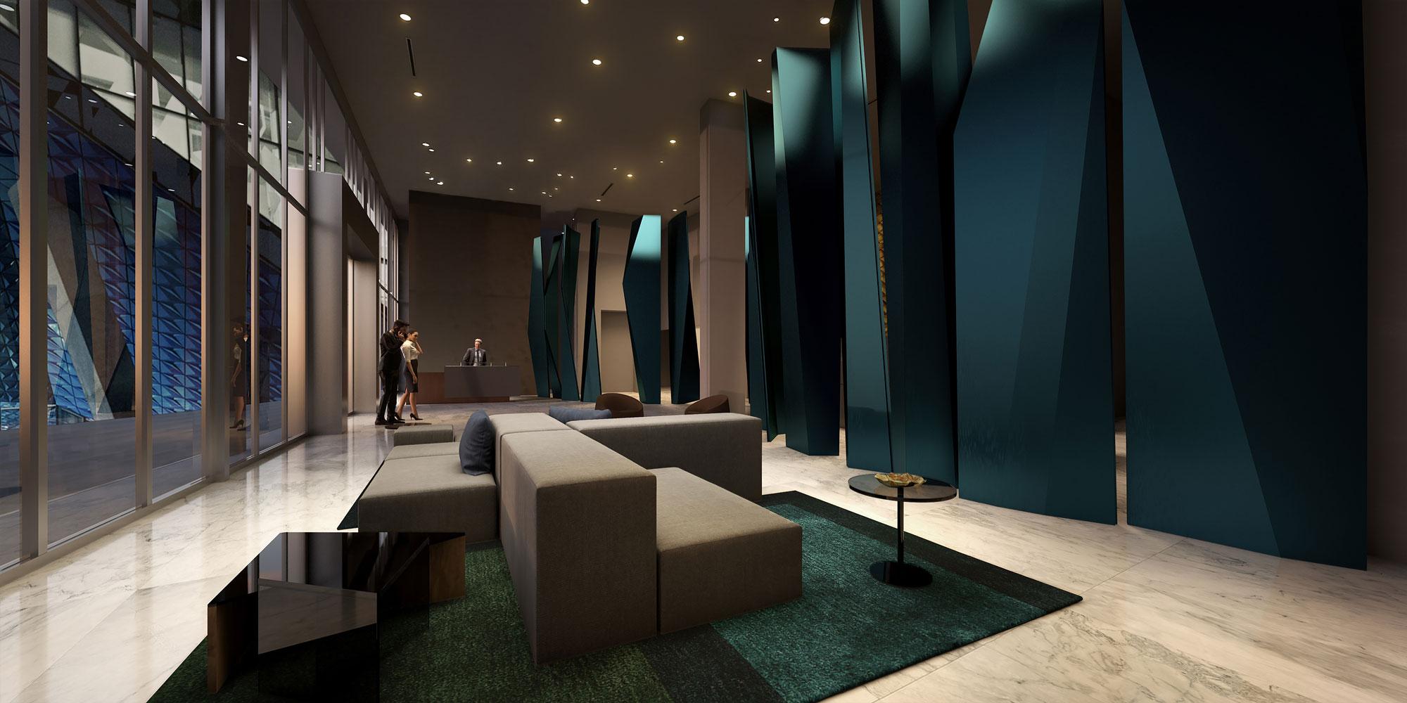 Quadro Lobby rendering
