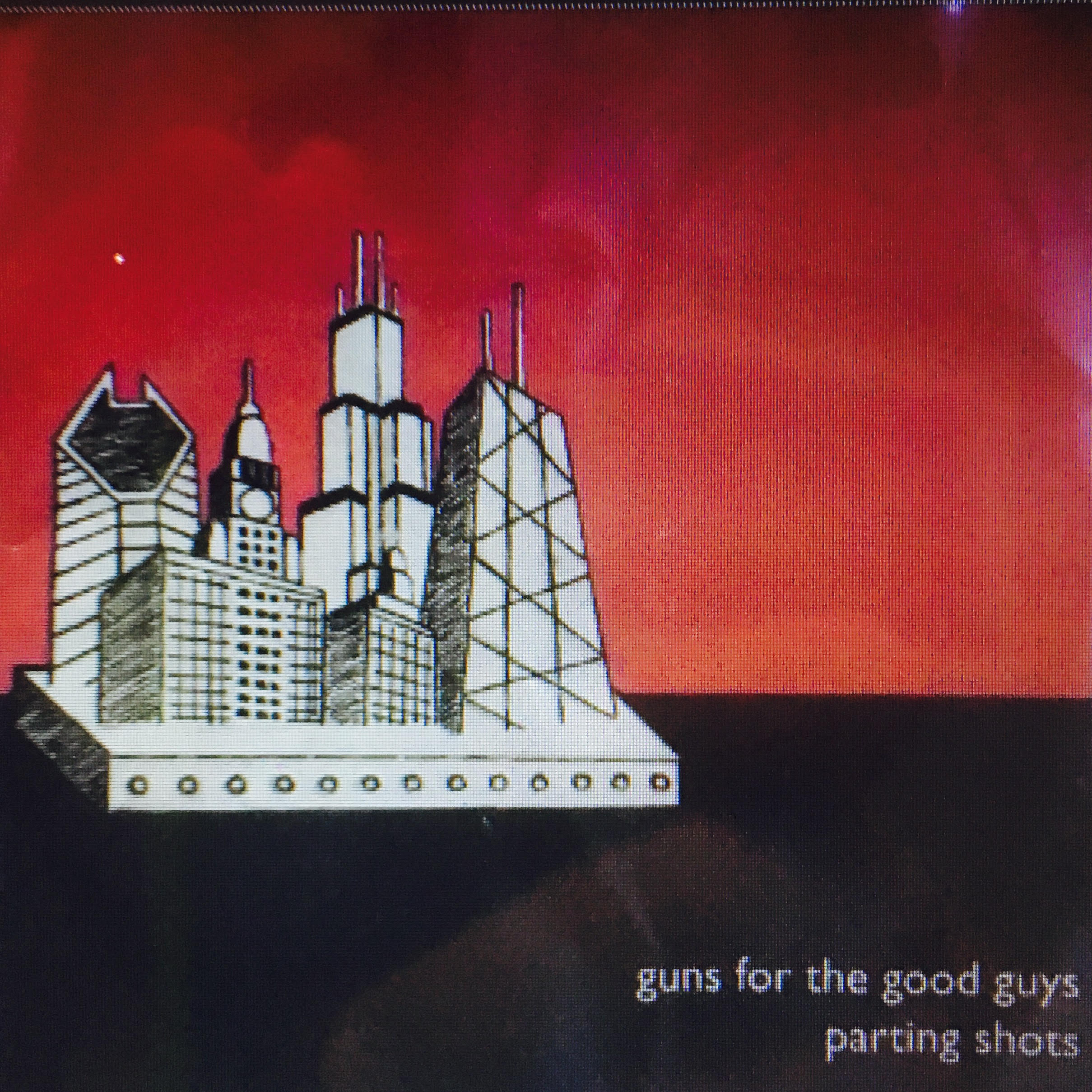 Parting Shots by Guns For the good guys (2005) - Listen on Sound CloudThe loudest band we ever incarnated as. We played every dive on the North Side of Chicago. We had no idea what we wanted in the studio, but we knew how to get it. The result is a raw, exuberant record where we truly embrace our mid 20's without the millstone of finesse weighing us down. Recorded by Eric Block at Semaphore in Chicago. I might have a few copies left on CD.