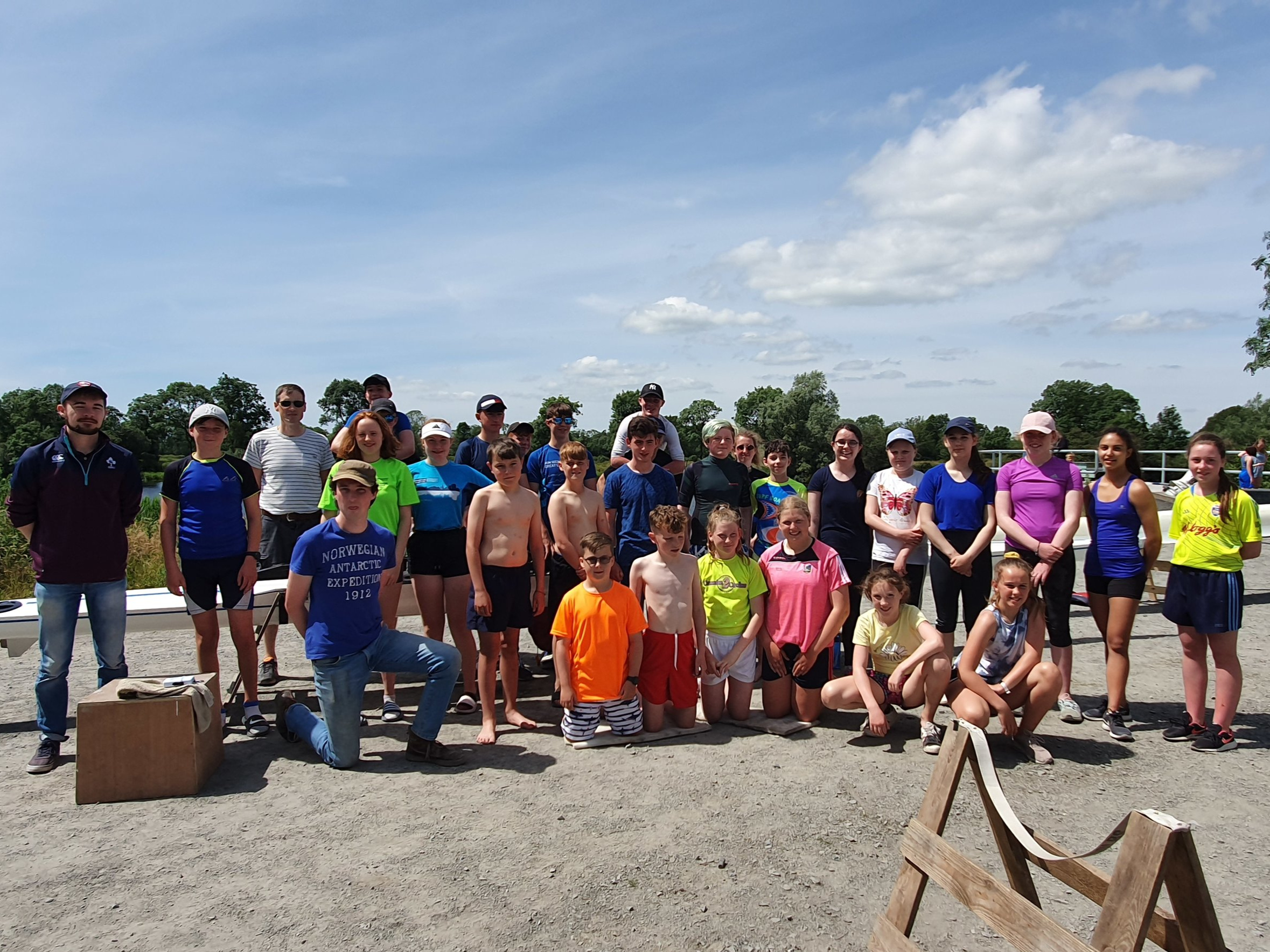 Shannon Rowing Club, Summer Camp 2019