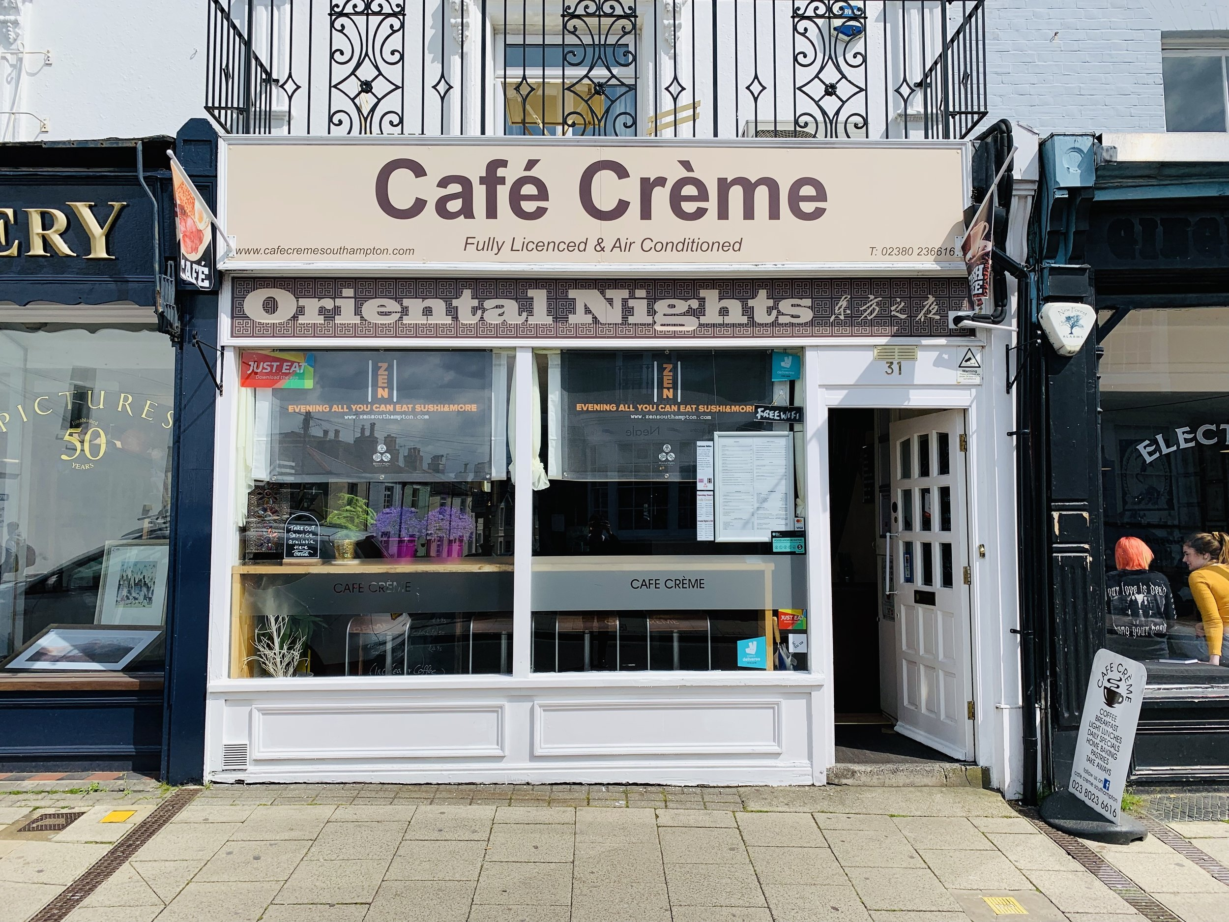 Zen is at Cafe Creme & Oriental Nights Zen - 31 Bedford Place, Southampton SO15 2DG