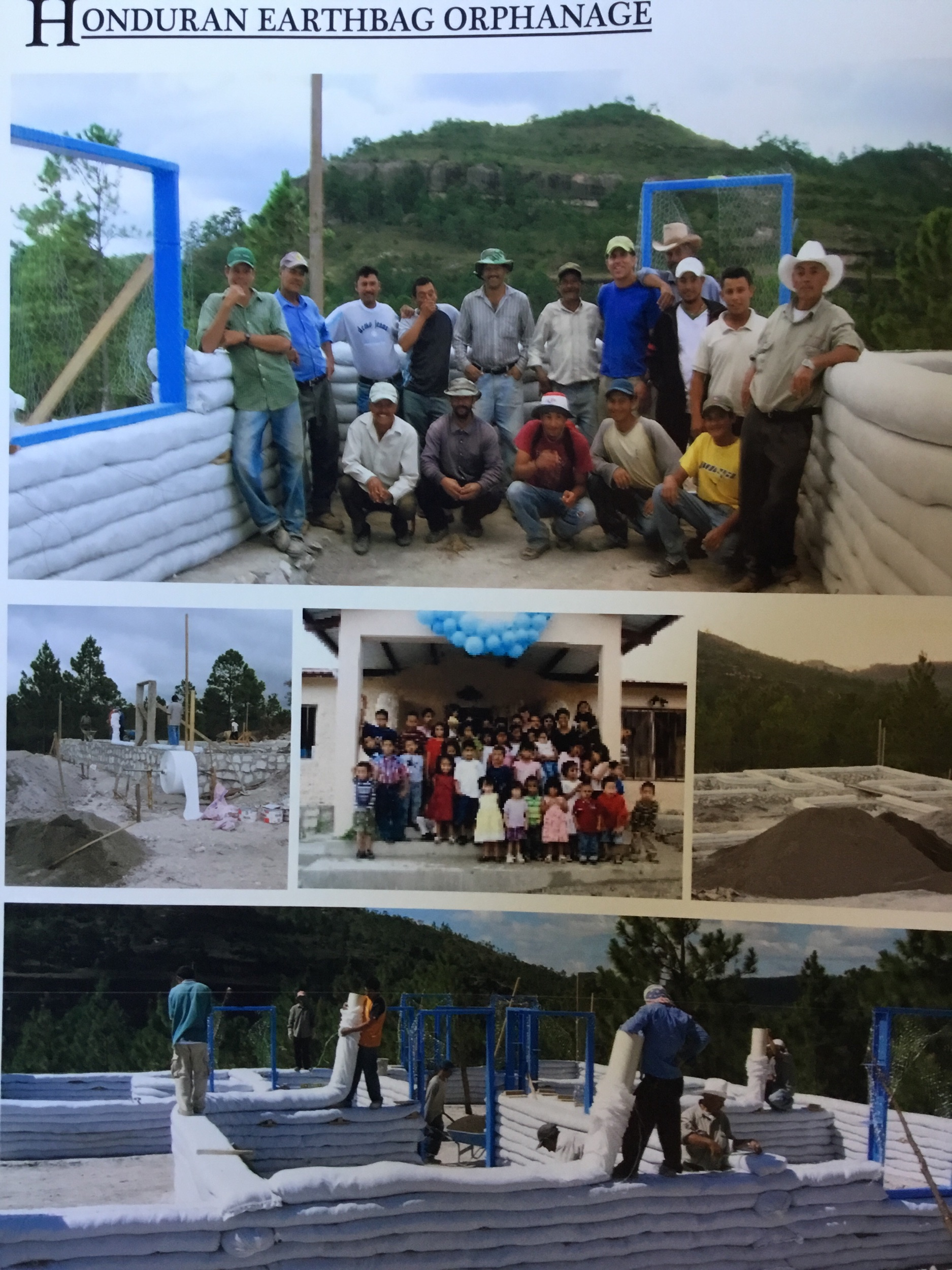 2007. 2229 square foot, 9 rooms, 14 windows. This was built for the children of the Lamb institute in Tegucigalpa, to live 26km outside the city, and to resist flooding and hurricanes.