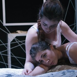 Julia Henning & Brianna Eylicio in as Christine & Lea