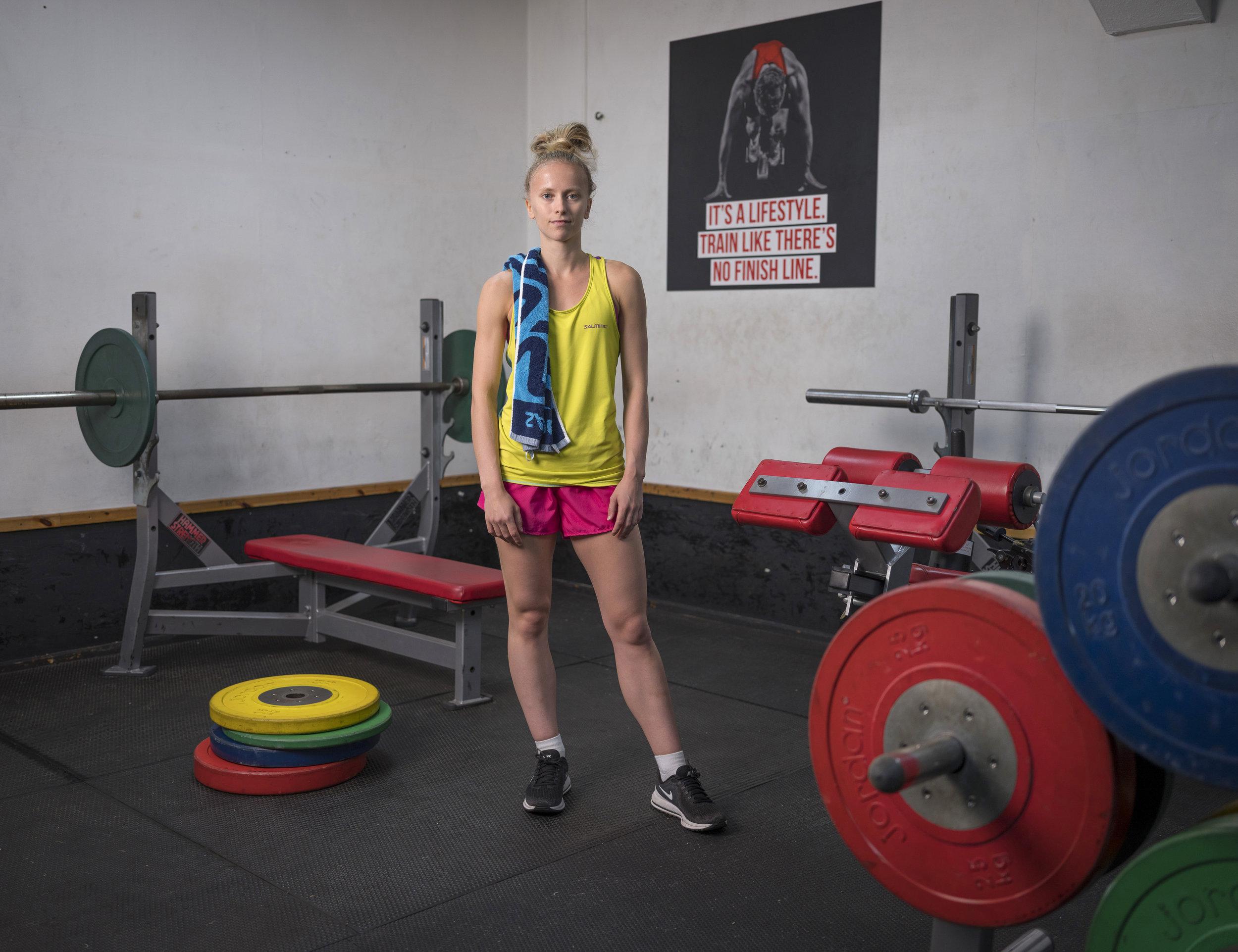 Emily: Le Sport Health & Fitness, Rhos on Sea, Colwyn Bay ©Niall McDiarmid