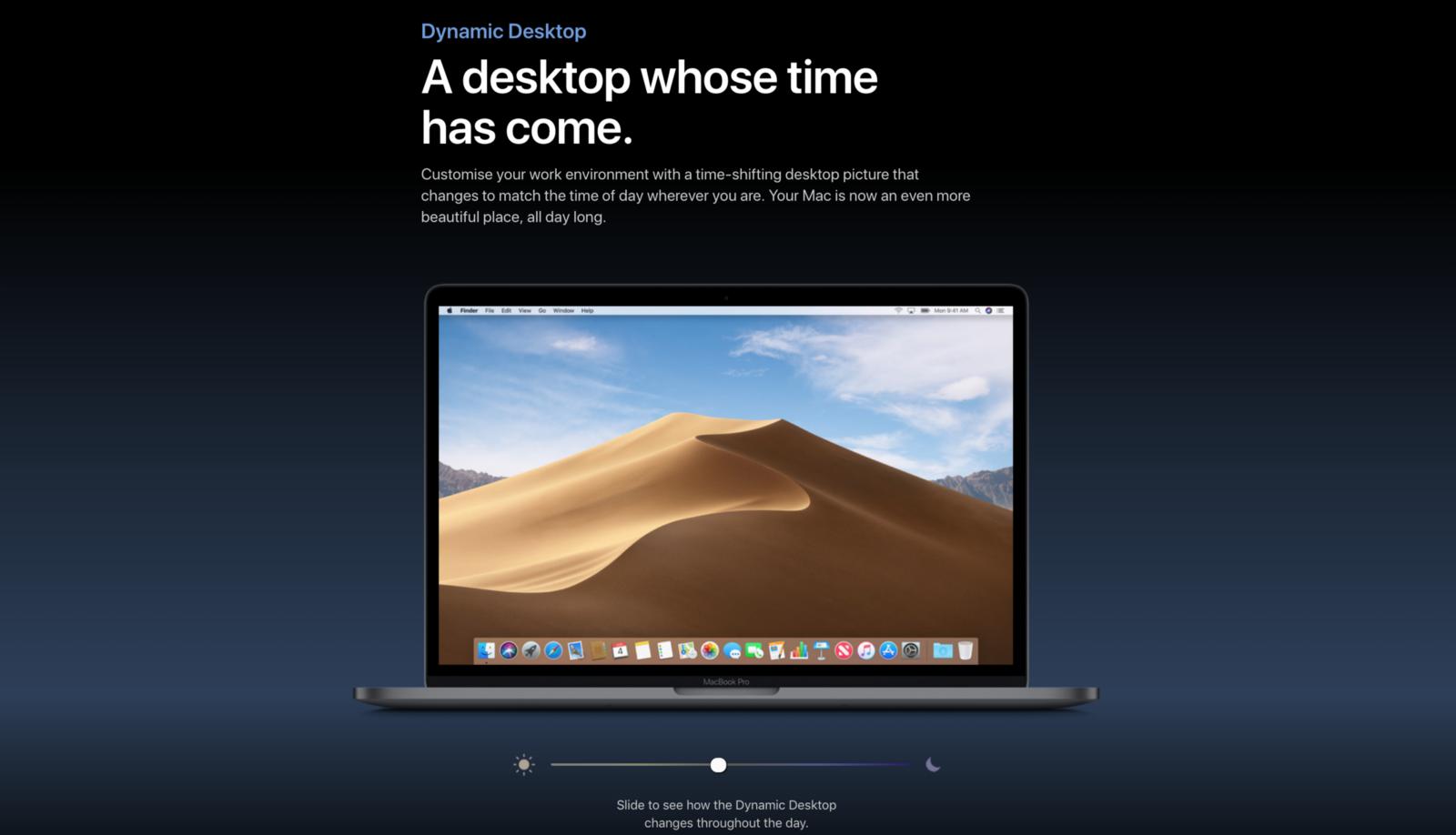 ref:  https://www.apple.com/uk/macos/mojave-preview/
