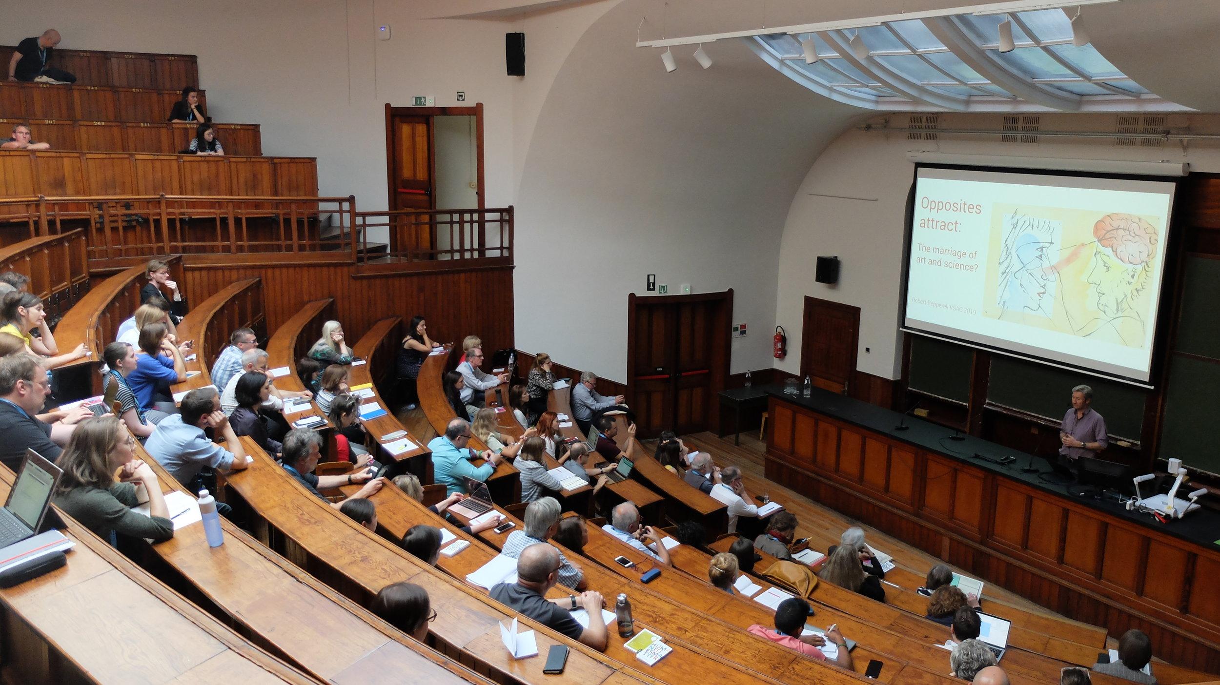 Robert Pepperell Lecture (2019)