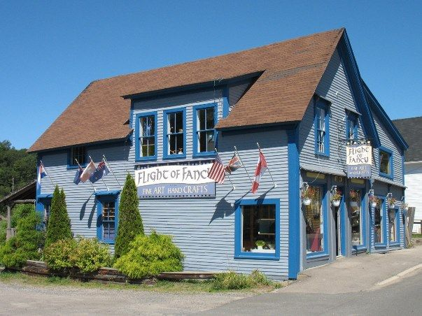 Flight Gallery - Bear River, Nova Scotia