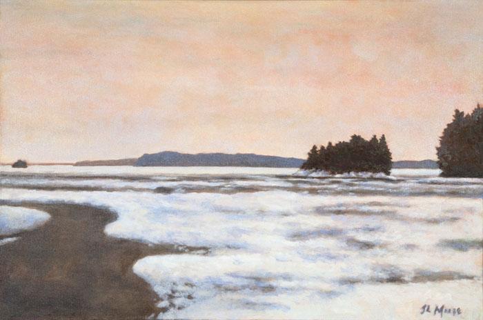 "Googin's Island   20"" x 30"" Oil on Canvas"