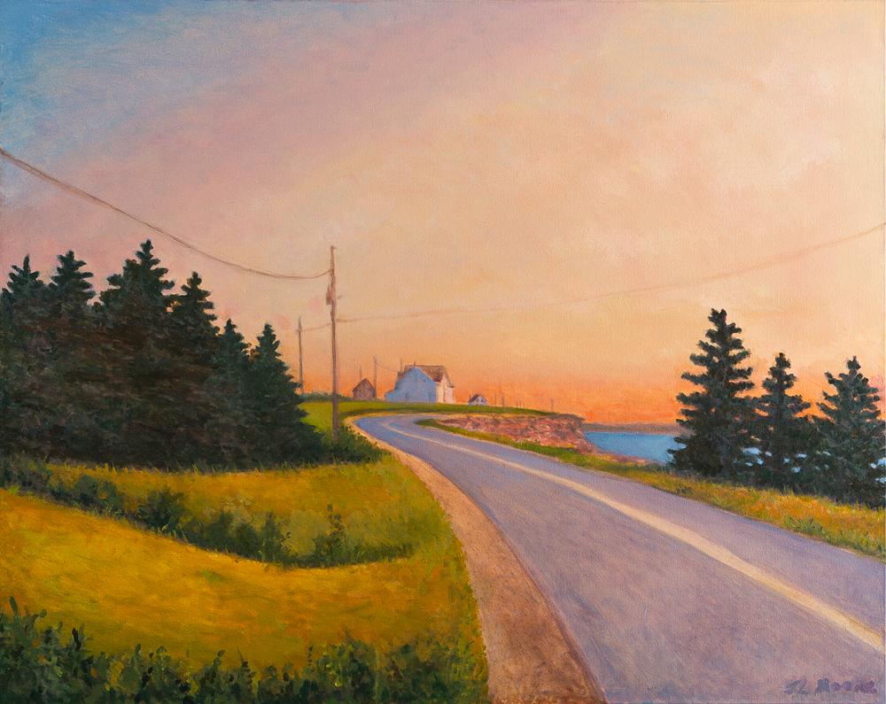 "Maris Stella's Way   24"" x 30"" Oil on Canvas"