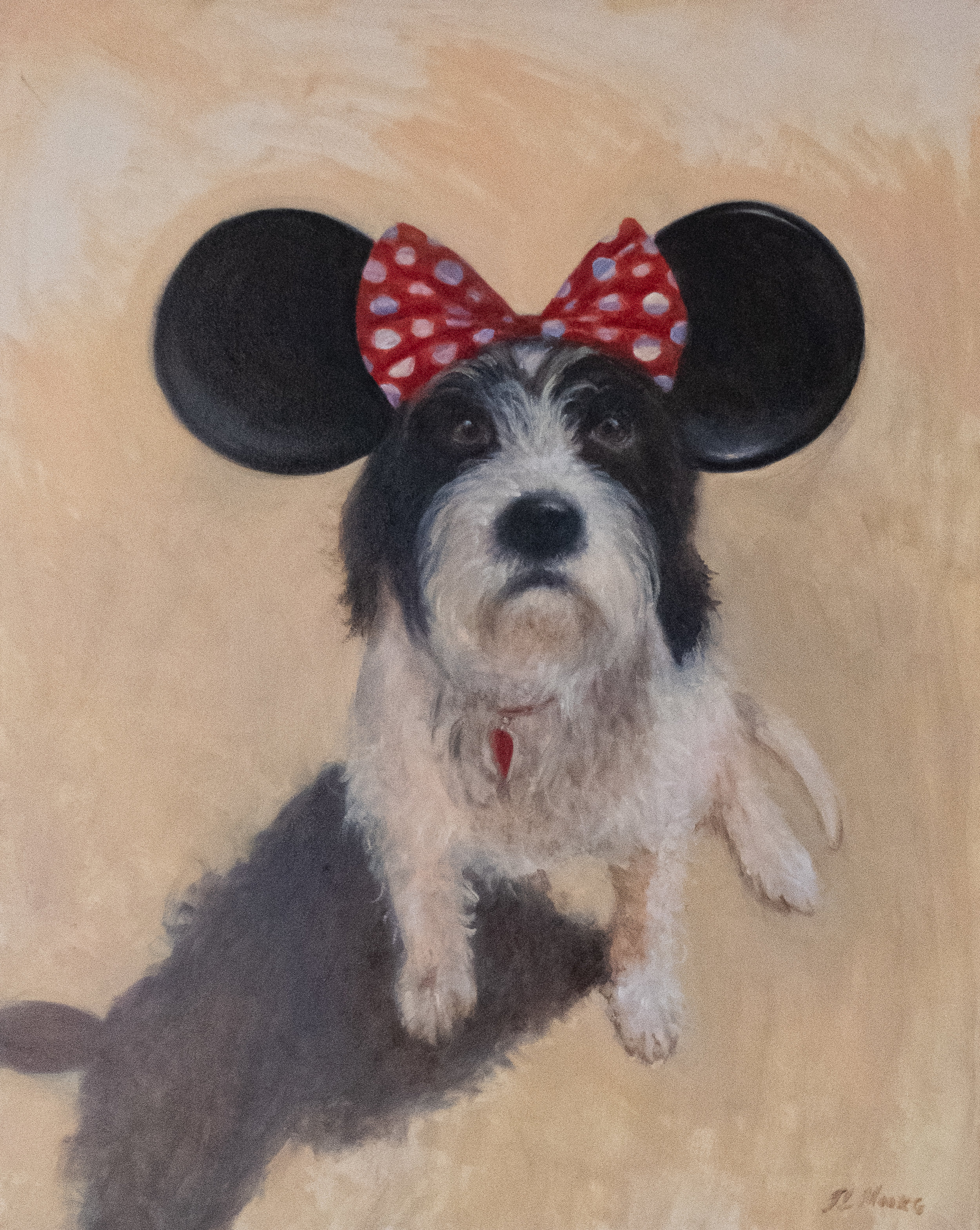 """Portrait Of Digby   30"""" x 24"""" Oil on Canvas"""