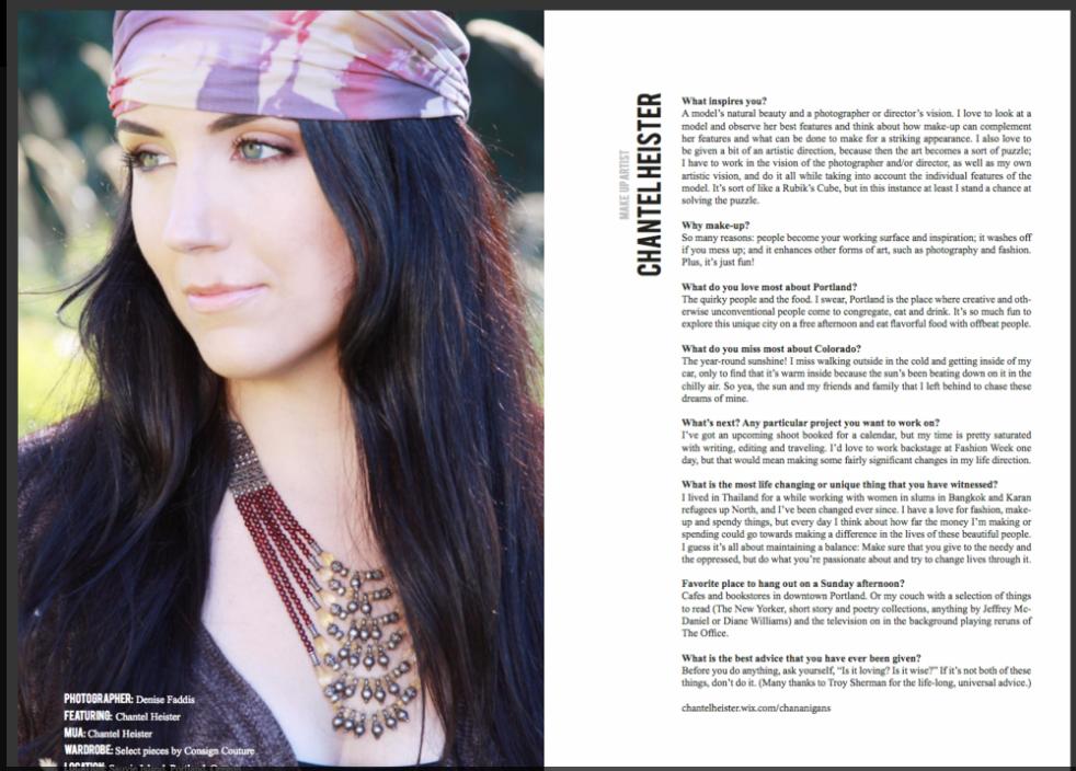 TUSK Magazine, Denise Faddis