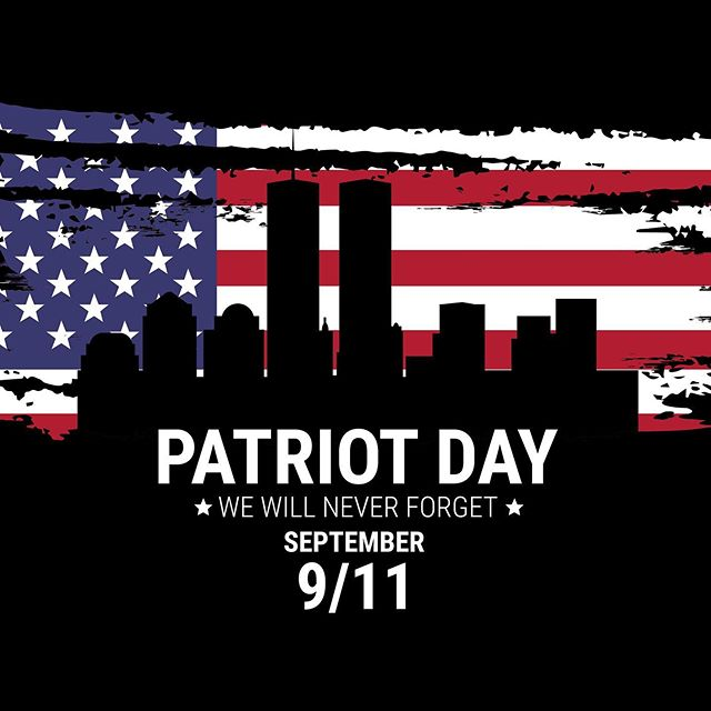 On this day 18 years ago, the world was forever changed. The day after this horrific act was the day that everyone came together as AMERICANS. There was no sides, Blacks, Whites... Jewish, Catholic, Christian... Republicans, Democrats... Rich or Poor.. Young, Old... we stood together as ONE. We were the United States of America. And we will always be. To the ones that payed the ultimate sacrifice 18 years ago; The Fire Department, the Police Officers, Port Authority Police, The Pilots and many others... To the men and women and child that lost their lives, the grieving families and friends of those.  We will never forget!  #NeverForget #PatriotDay #Sept11th2001 #UnitedWeStand #RiseFromTheAshes