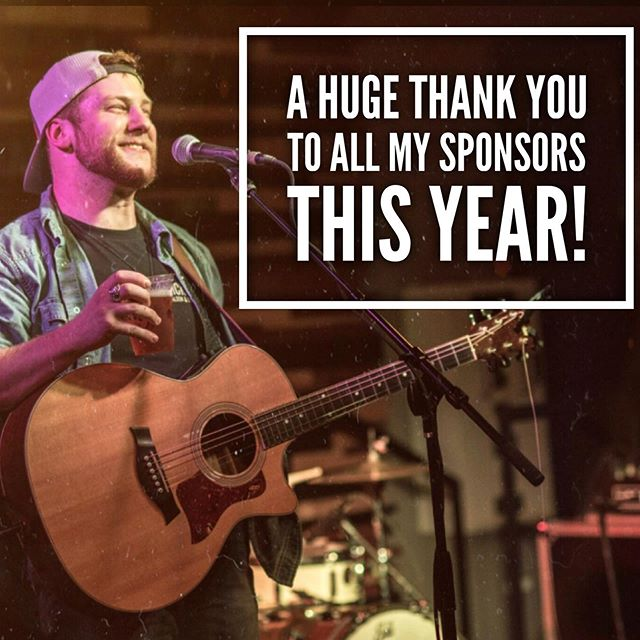As we come closer to the end of the year, I can't help but THANK everyone of my sponsors that helped me throughout this year! #509ExcavatingLLC @slayerseriescom @countrysquarecleelum @riggioguitars  @tonylamaboots . . . Honorable mentions: #taylorguitars #fenderamps #gibsonguitars #wranglerretro #hillarybutlerphotography #bosspedals #shuremicrophones #westone #AndyandKariAudette #djnlawoffice #malcomspringer #houseofblues #joetafoya