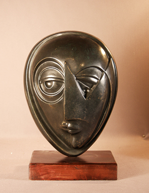 Anthony Quinn   Dawn to Dusk  Bronze with patina 14 x 10 x 7 in.