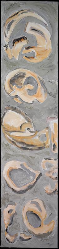 Anthony Quinn   Painting  60 x 14 in 152.4 x 35.6 cm  (AQ2004.456)