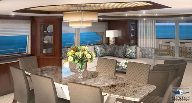 New highly detailed 3D rendering one of our current refit projects under construction- 100ft Azuimut Jumbo!! We love to create these renderings for the clients to help them see the finished interior before construction starts! Super excited to see her finished! @rybovichsuperyachtmarina @karenlynn_yachtinteriordesign  #yachtinteriors #yachtdesign #yachtbuilder #yachtbroker #yacht #yachting #charteryacht #luxuryyacht #yachtcaptain #refitteamrocks #yachtstylist #interiordesign #megayacht #yachtinteriordesign #yachtlife #yachtarchitect #navalarchitecture