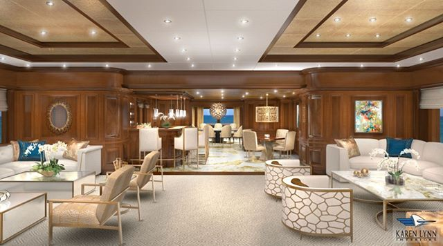 a series of (6) 3D Renderings created for the 70M Lurssen M/Y Martha Ann which allow the client to see interior design and refit concepts before construction and modifications begin- with over 20 years experience in the yachting industry let us help you on your next refit or yacht makeover project- @karenlynn_yachtinteriordesign #superyacht #yachtrefit #yachtdesigner #yachtbroker #yachtbuilder #superyachtrefit #yachtinteriordesign #yachtinteriors #yachtcharter #luxuryyacht #yachtlife #yachts #yachting #yacht #yachtmakeover #yachtdesign #yachtstyle @superyachtpro