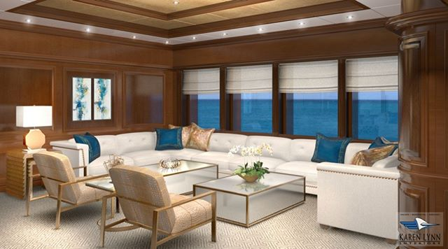 A series of 6- 3D renderings created for M/Y Martha Ann a 70M Lurssen to help client visualize the changes on the interior we were proposing for the refit- with over 20 years experience designing yacht interiors and yacht architecture let us help you with your next project @karenlynn_yachtinteriordesign #yachtparty #yacht #yachtinglife #yachtrefit #yachtbroker #yachtbuilder #yachtinteriors #yachts #yachtmakeover #yachtarchitecture #yachtlifestyle #yachtdesign @superyachtpro