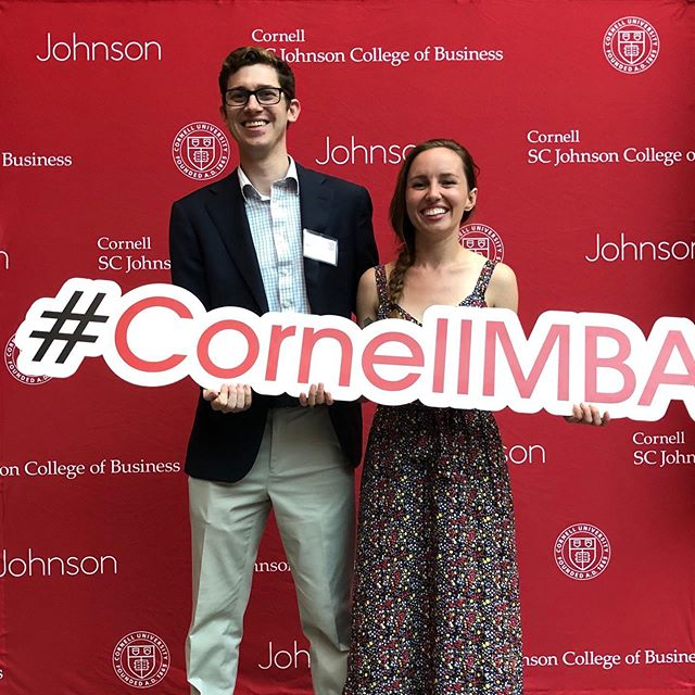 I am excited for the 2 years ahead ❤️ #cornellmba #cornell #ithacany #ithaca