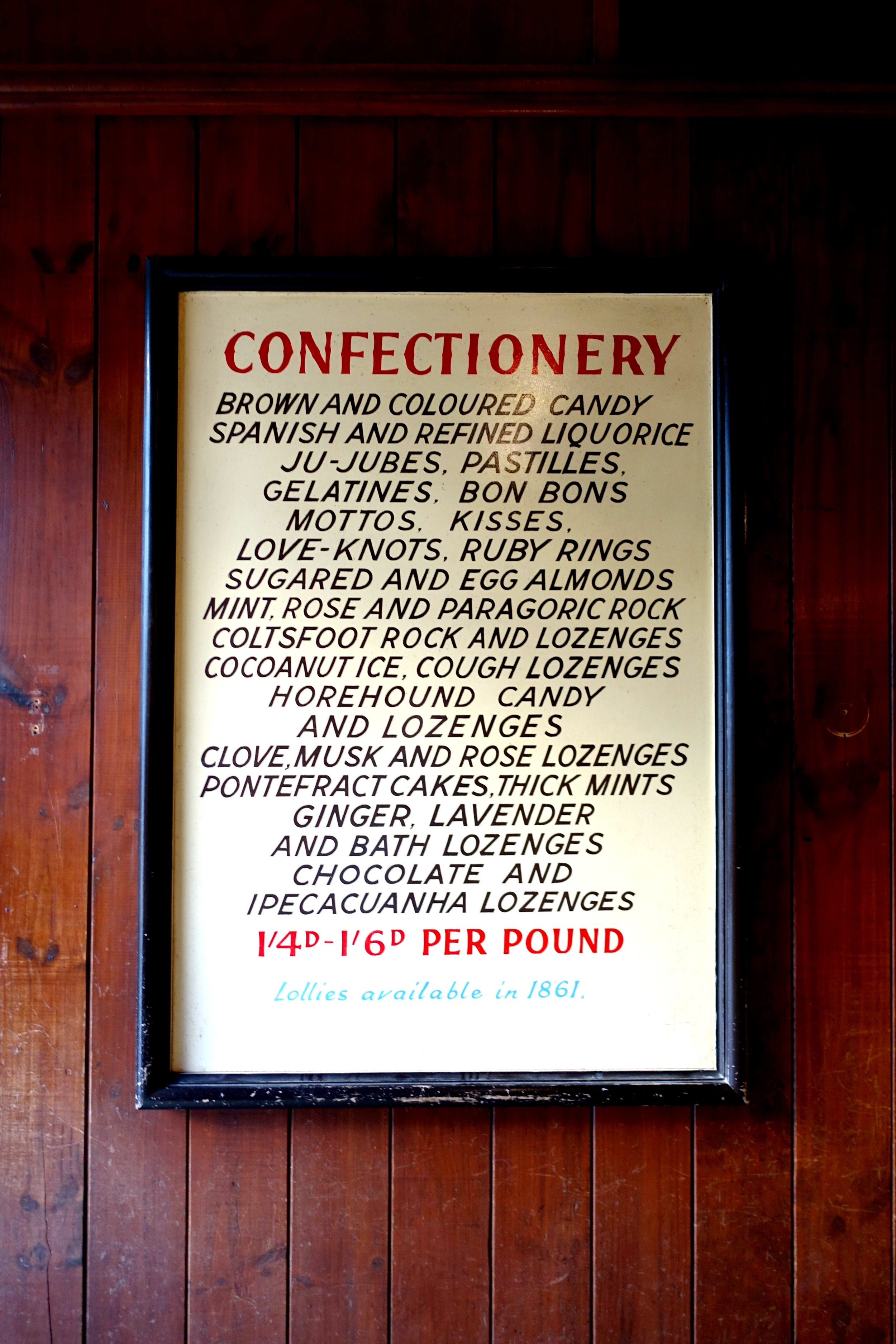 Sovereign Hill Confectionery