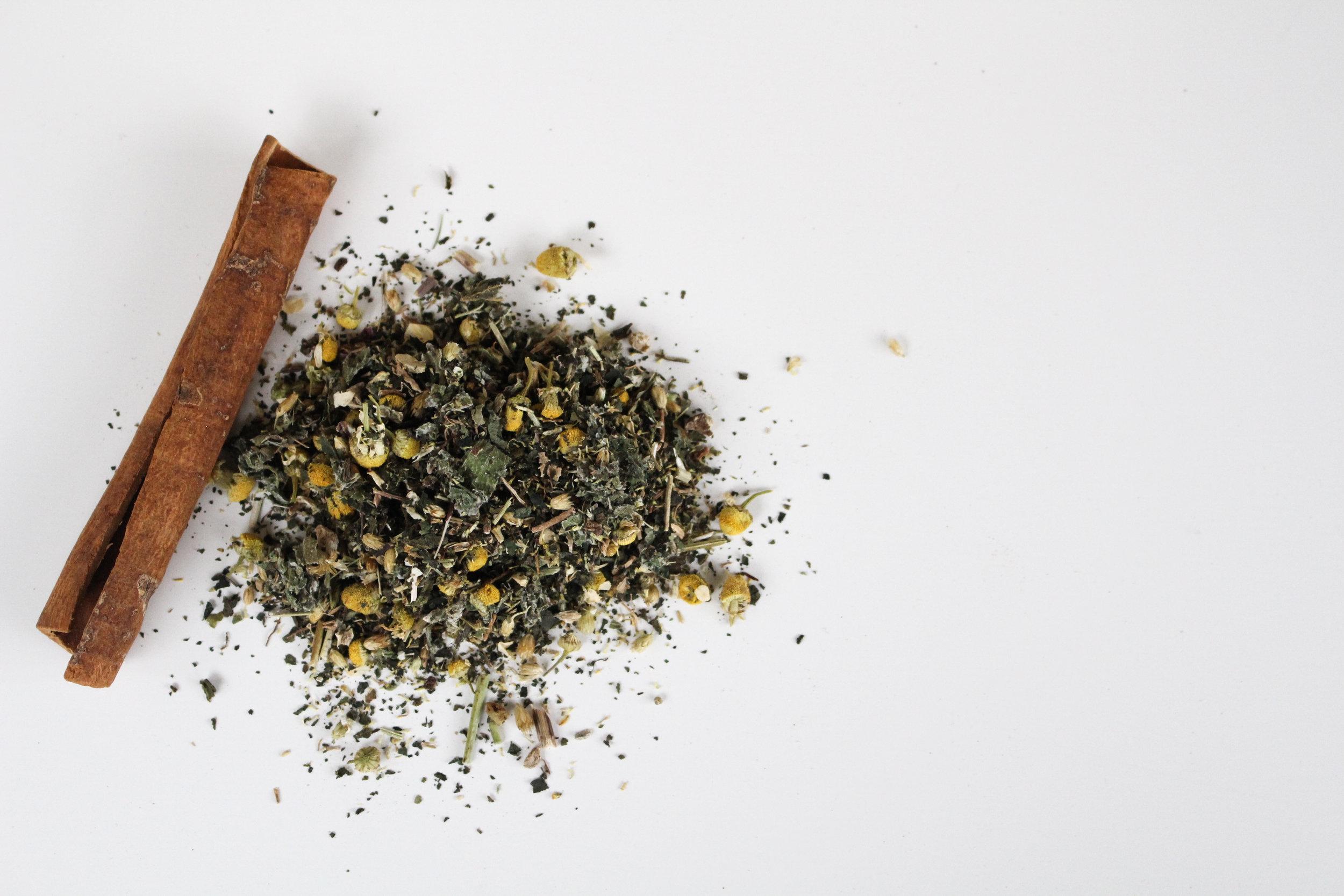 Healing Teas - 100 % organic herbs to Warm the Womb