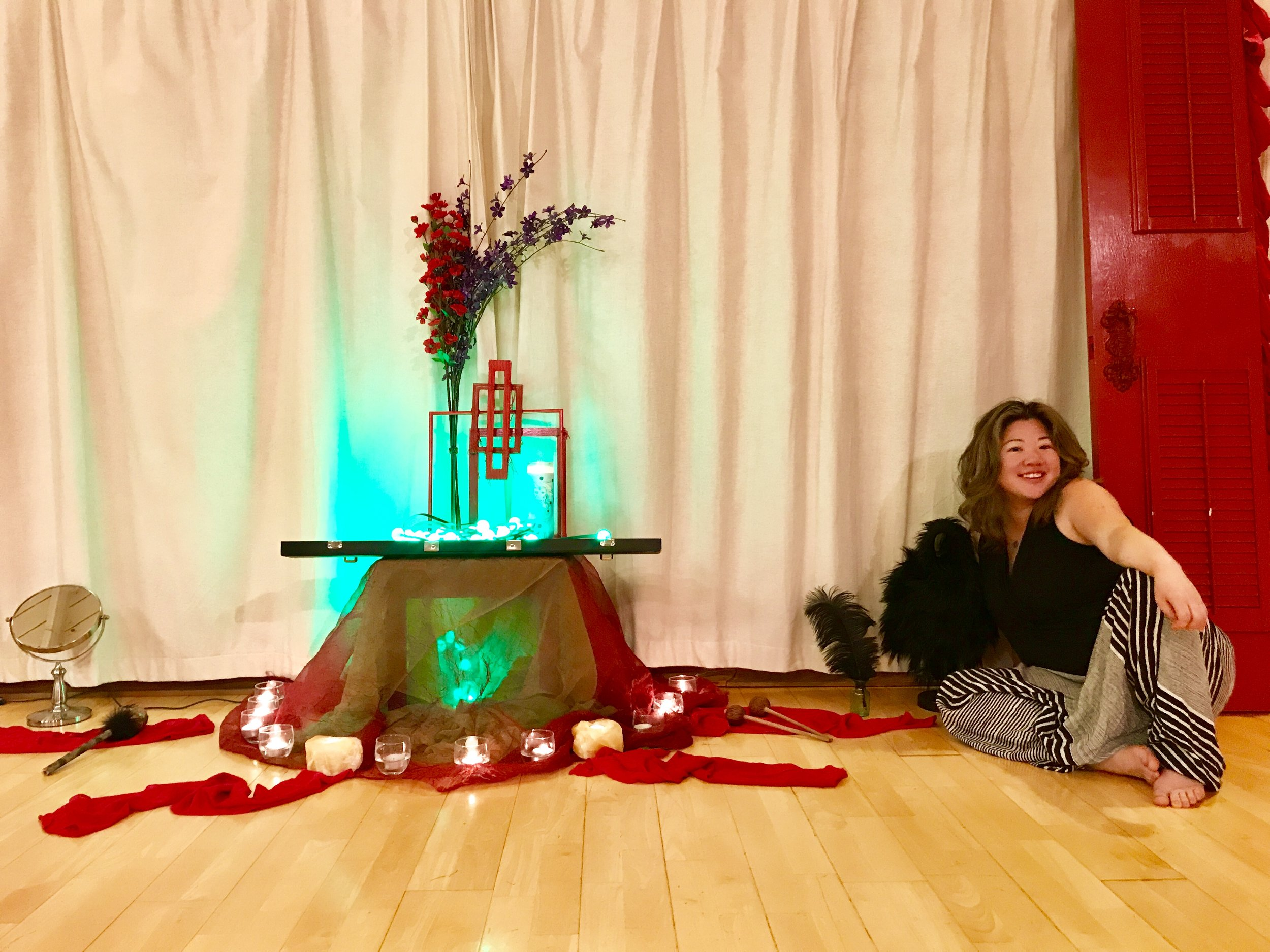 Red Door Altar Installation - Day 1 - Go : : Fire