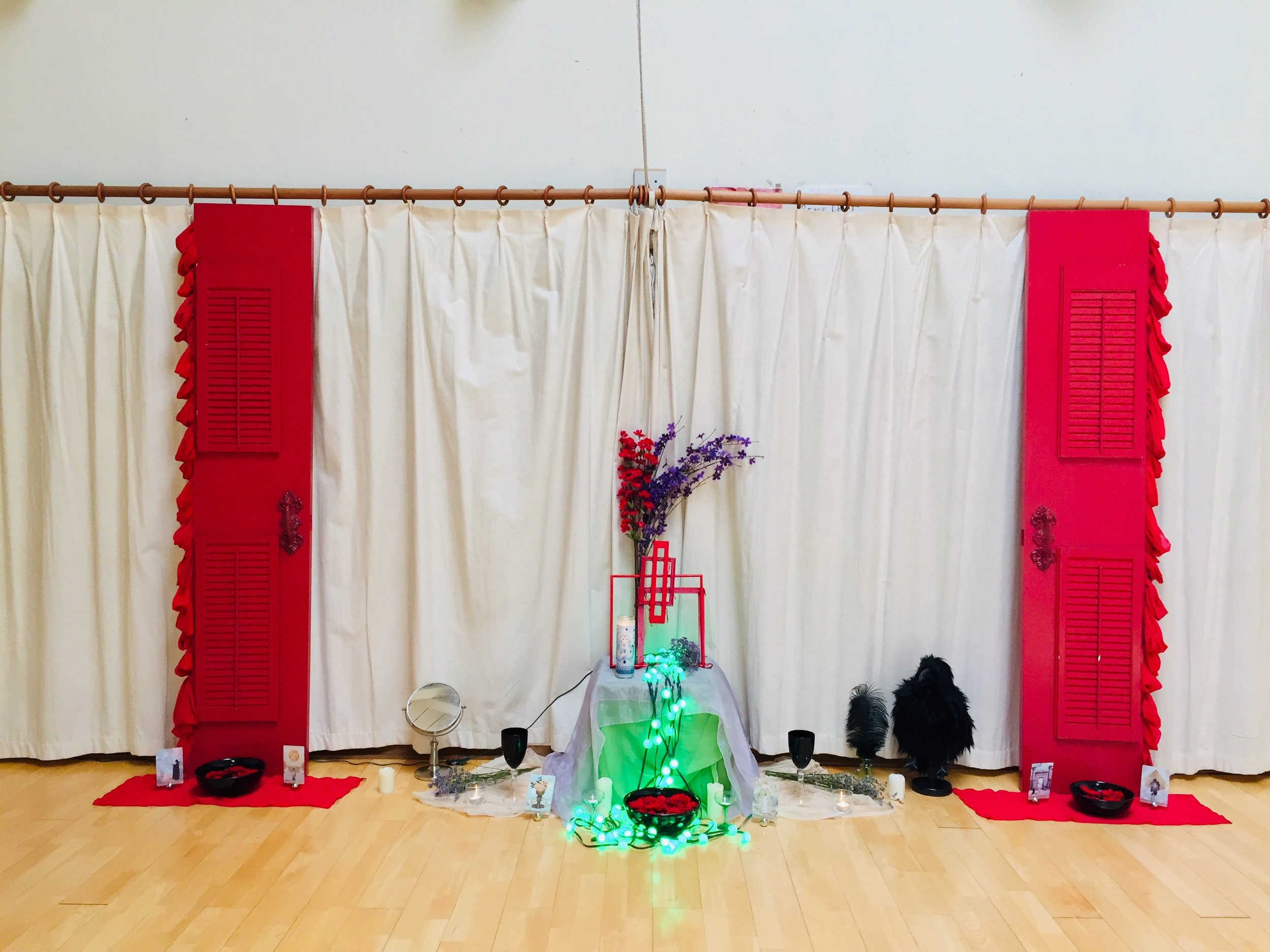 Red Door Altar Installation - Day 3 - Go : : Water