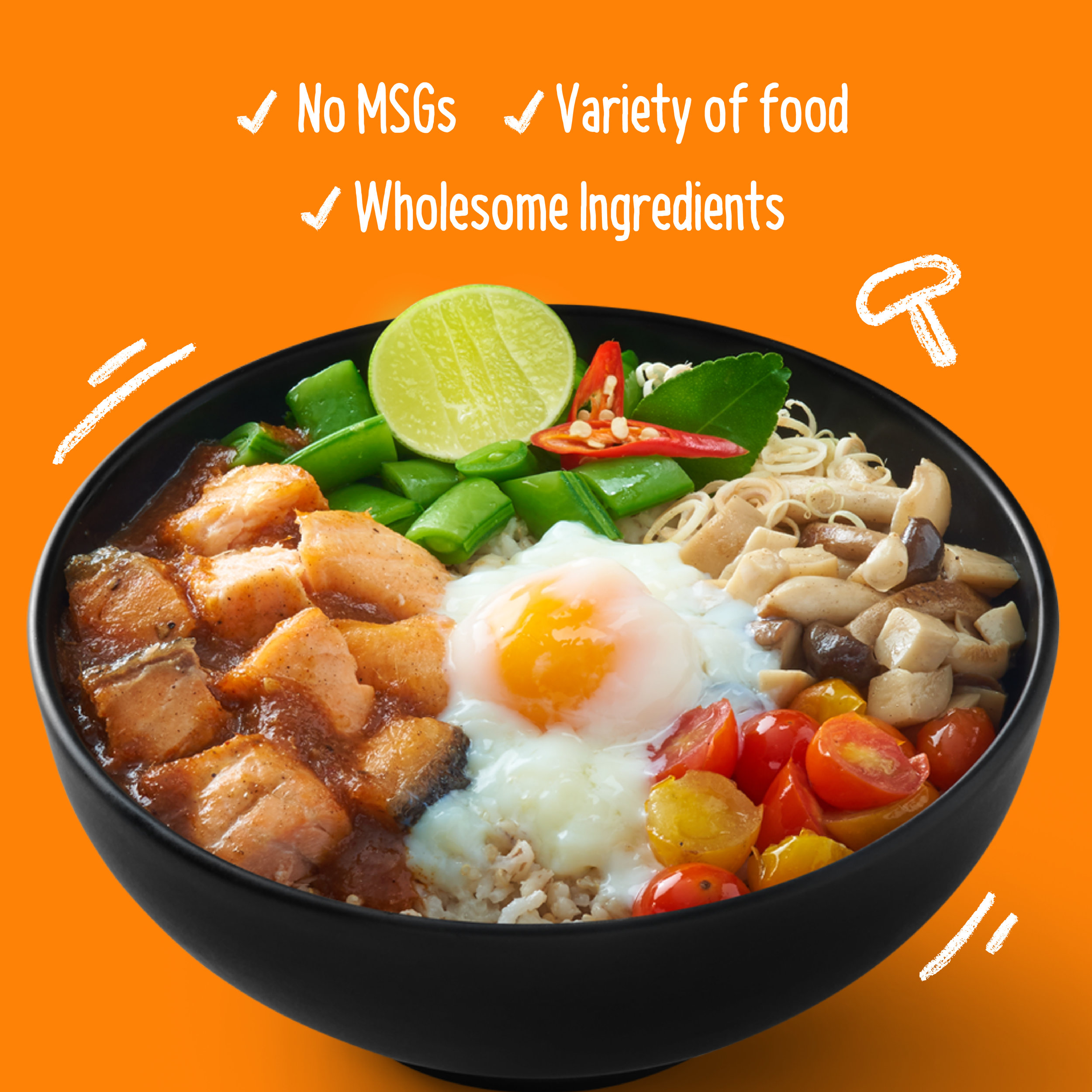 Thai dishes with healthy twists - Full flavor of thai cuisine with lots of nutritious and wholesome ingredients