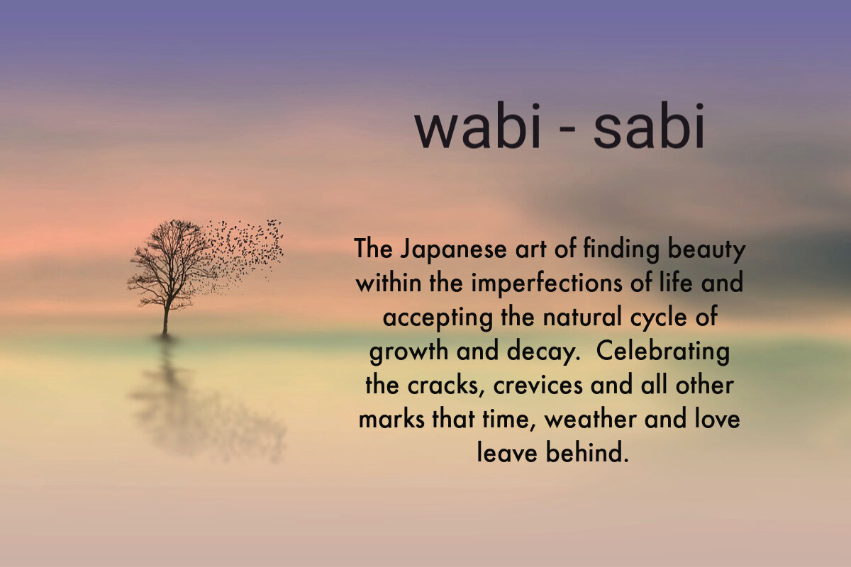 wabi sabi finding beauty in the imperfections of life from the lifestyle blog, Soufflesandsawdust.com