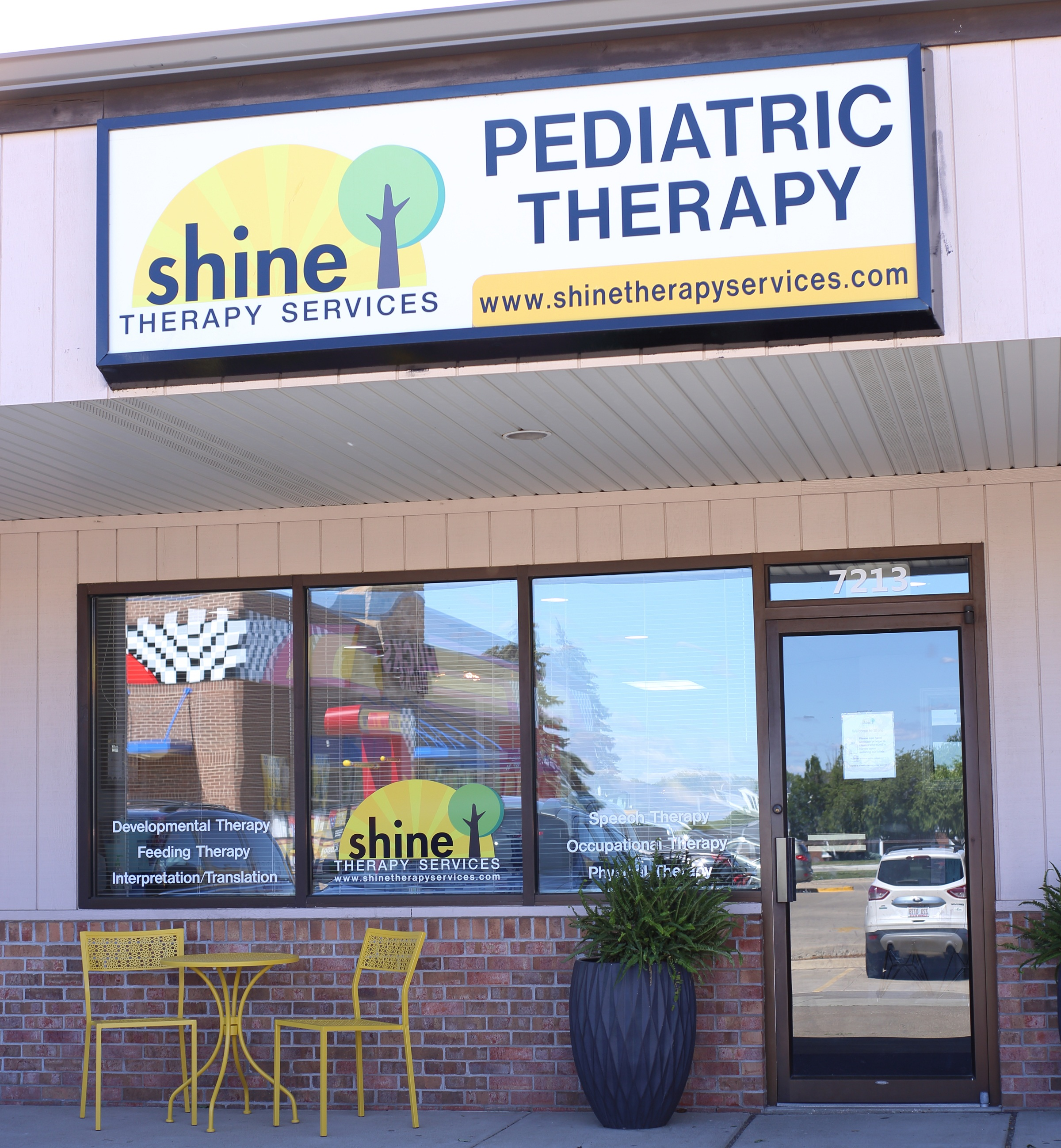 Our Location - We moved into our current clinic in July of 2018. It is located at: 7213 N Allen Road, Peoria IL 61614- right next door to Khaki Jacks!
