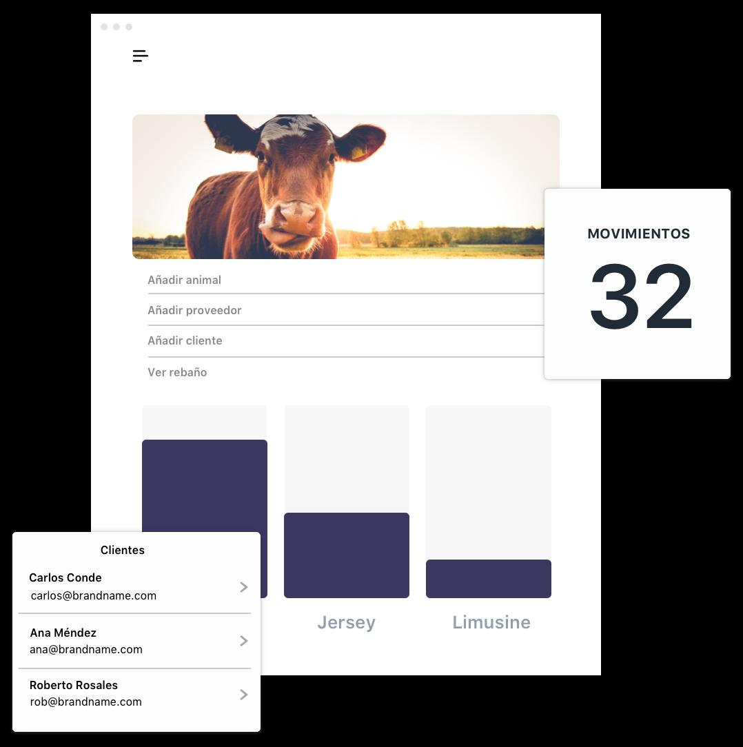 Blockchain ganadería, trazabilidad animal