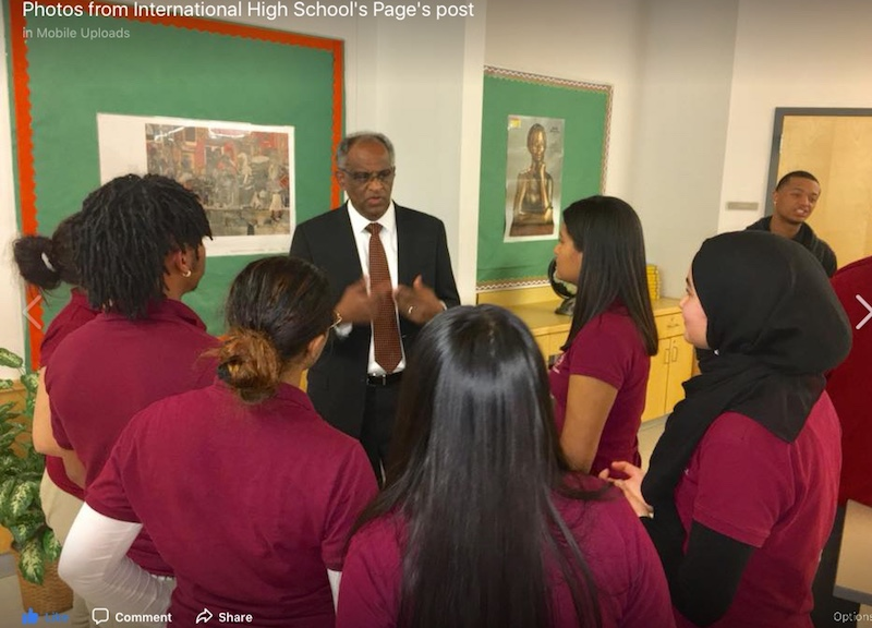 International High School - Paterson, New Jersey Launched January 2017