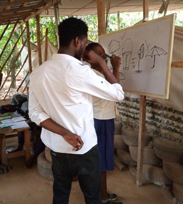 Nigerian artist Kayode Emmanuel offers guidance.