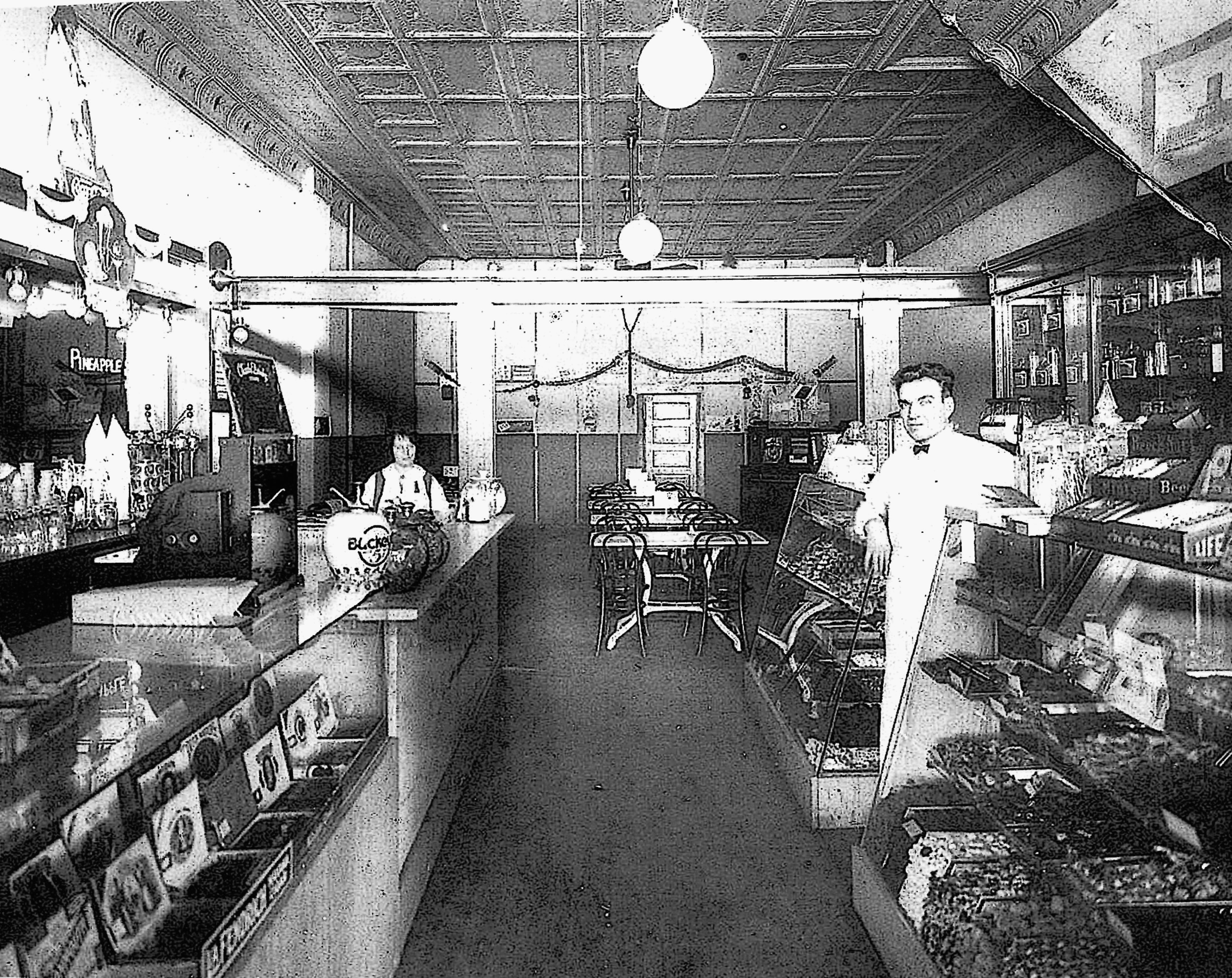 "Eugenio and Philomena owned Petrini's Palace of Sweets from 1923-1946—Abingdon, Illinois    This is where the Petrini Brothers got their ""training"" on how to run a successful family business!"