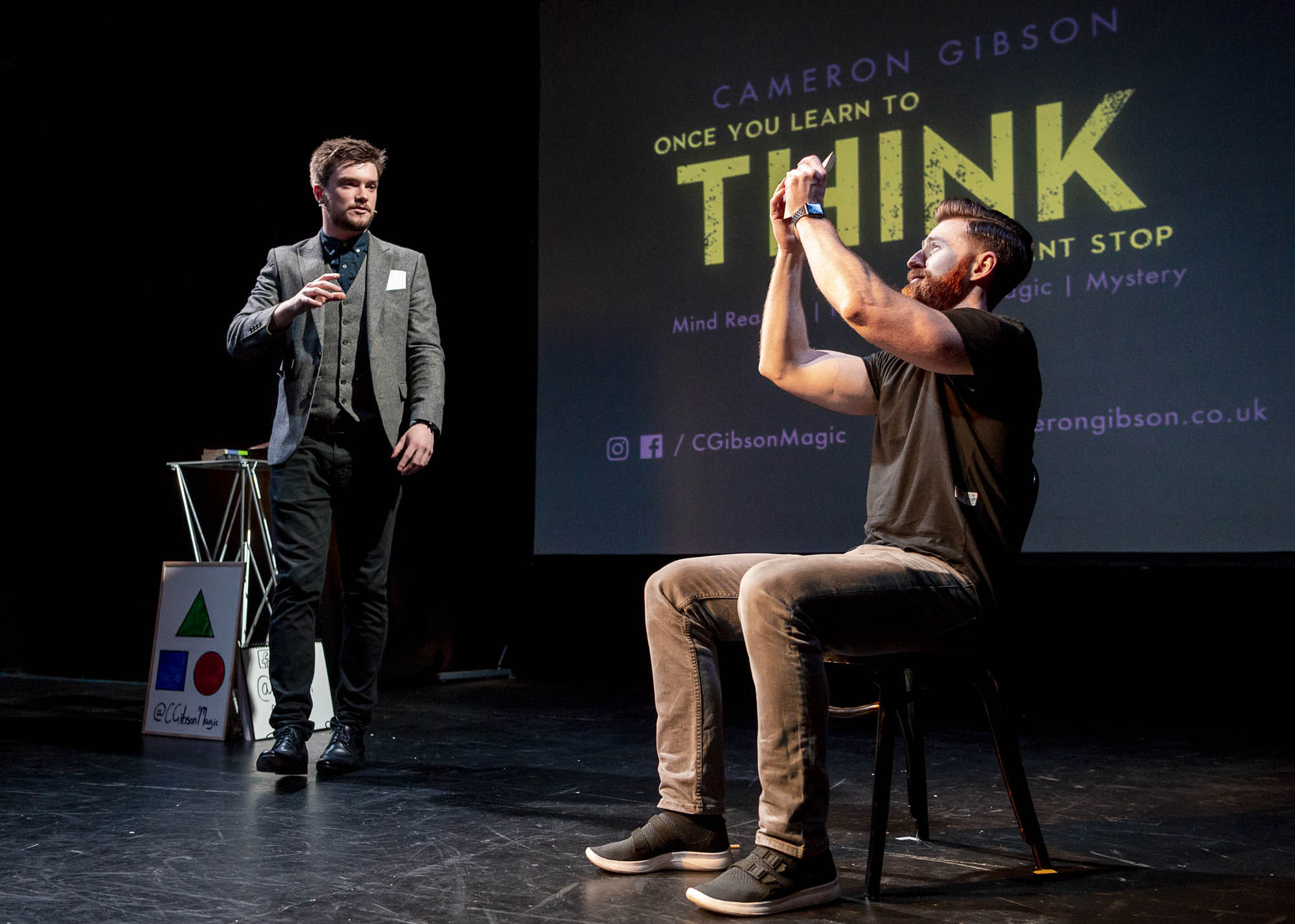 THINK - Mind Reading Show