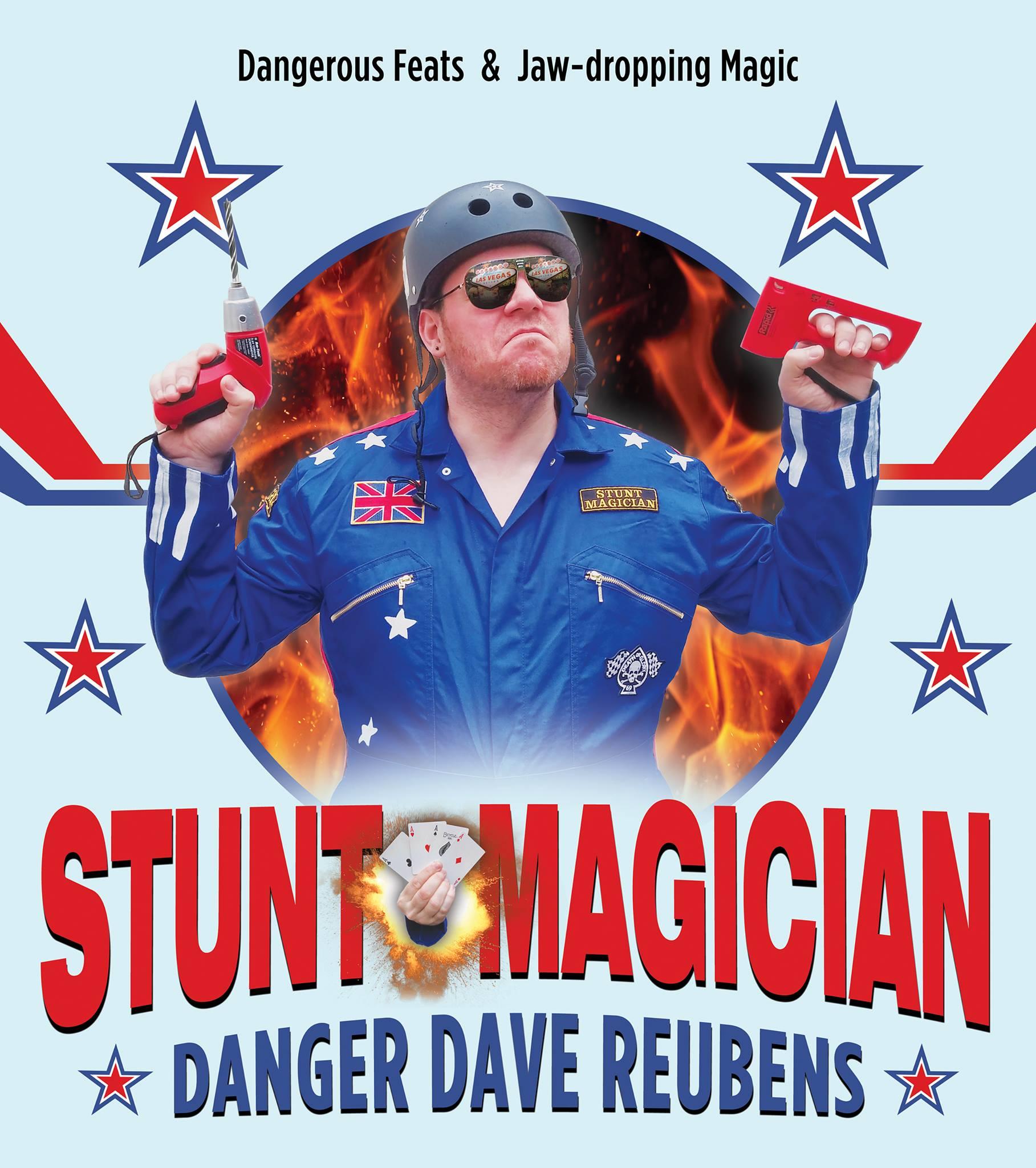 Danger Dave Reubens - Stunt Magician
