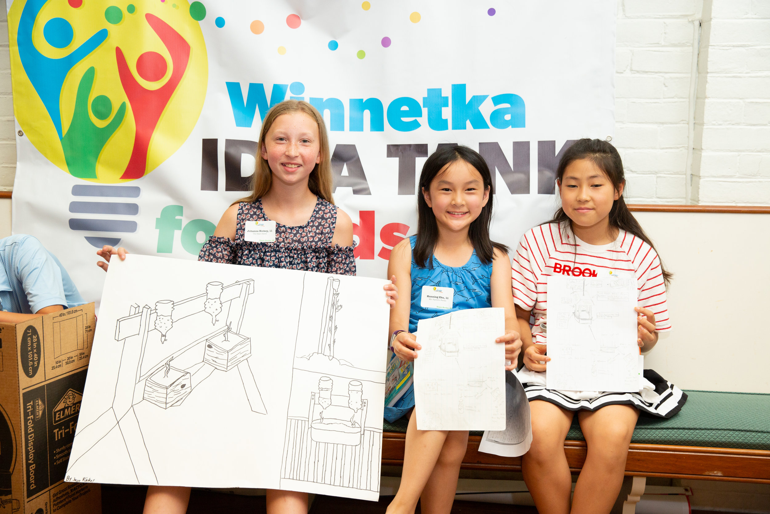 Kid entrepreneurs in the making…