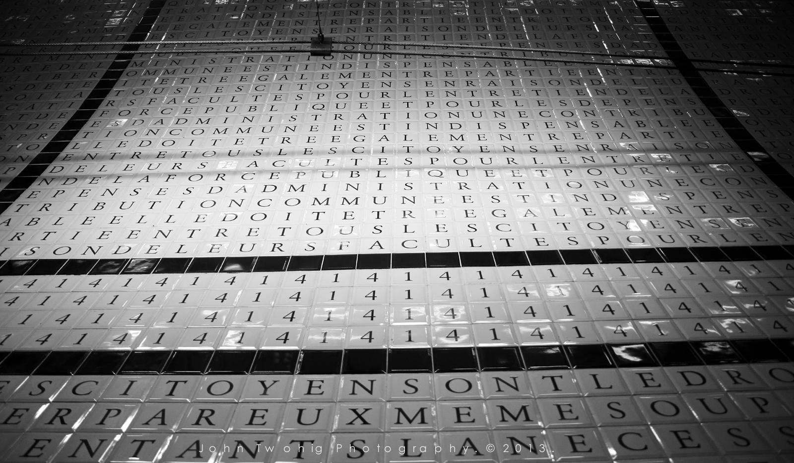 Concorde, Paris Metro.
