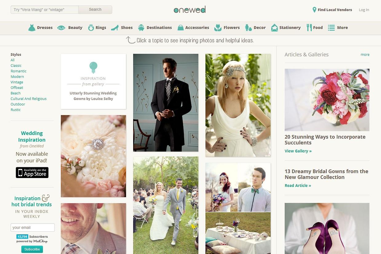 OneWed — Start Here Designs