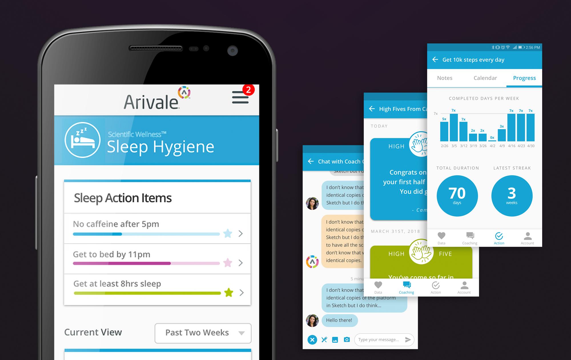 Arivale App