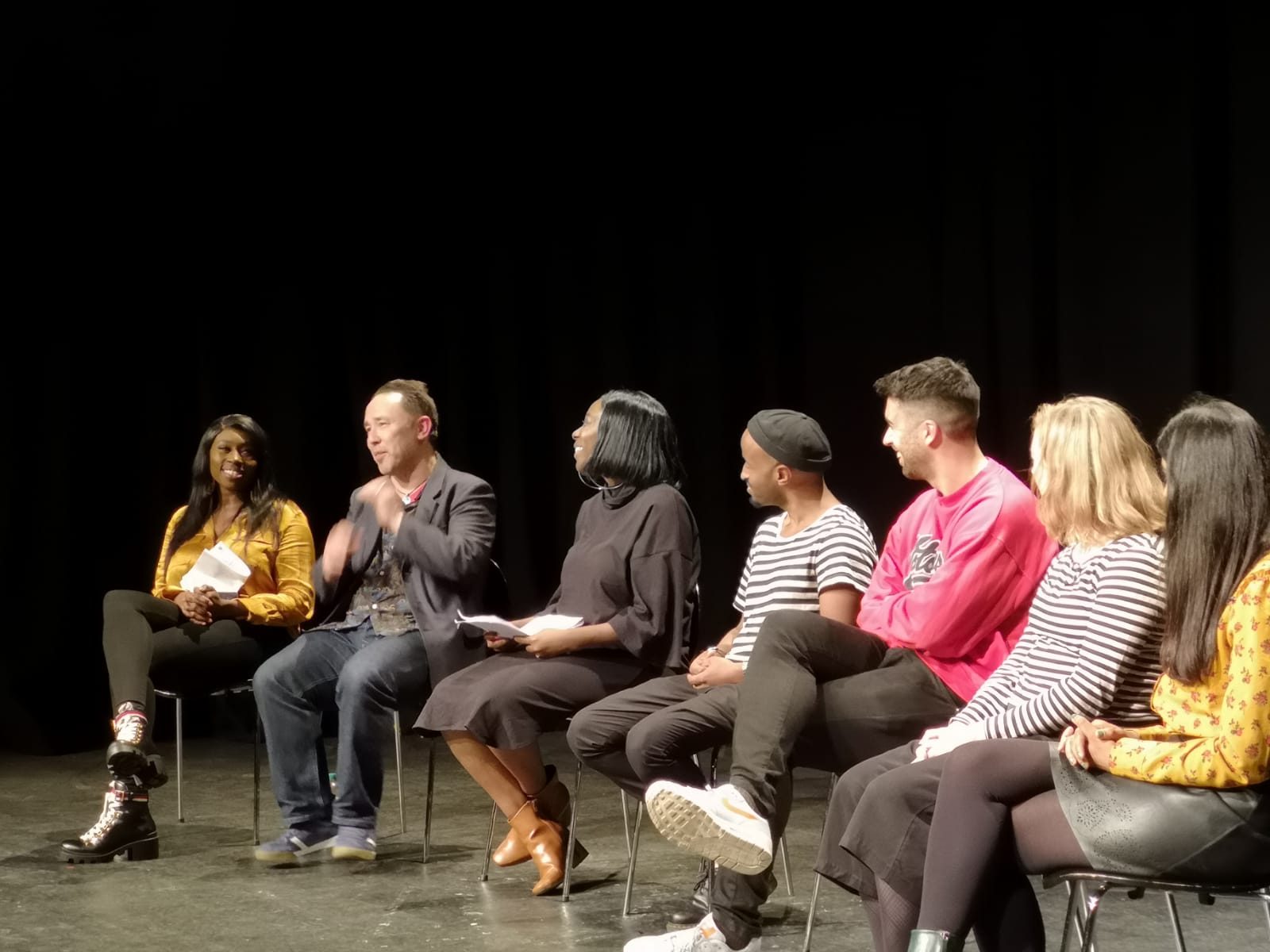 Hear Me Now book launch, 2018