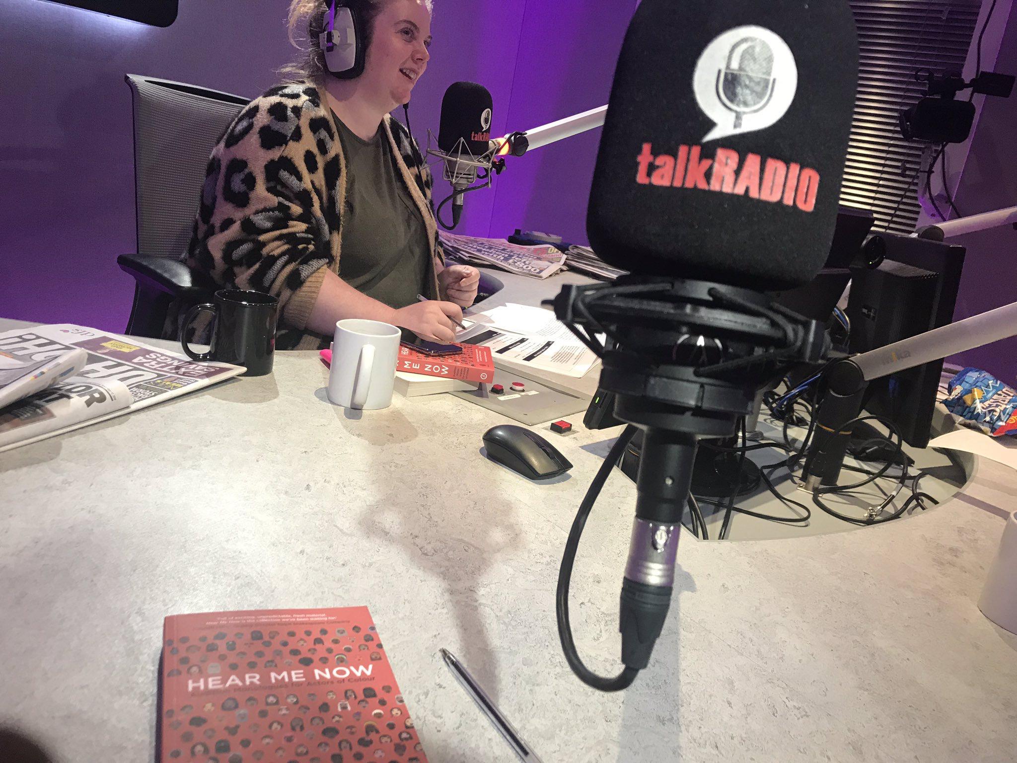 Interview on Talk Radio's Badass Women's Hour, 2018