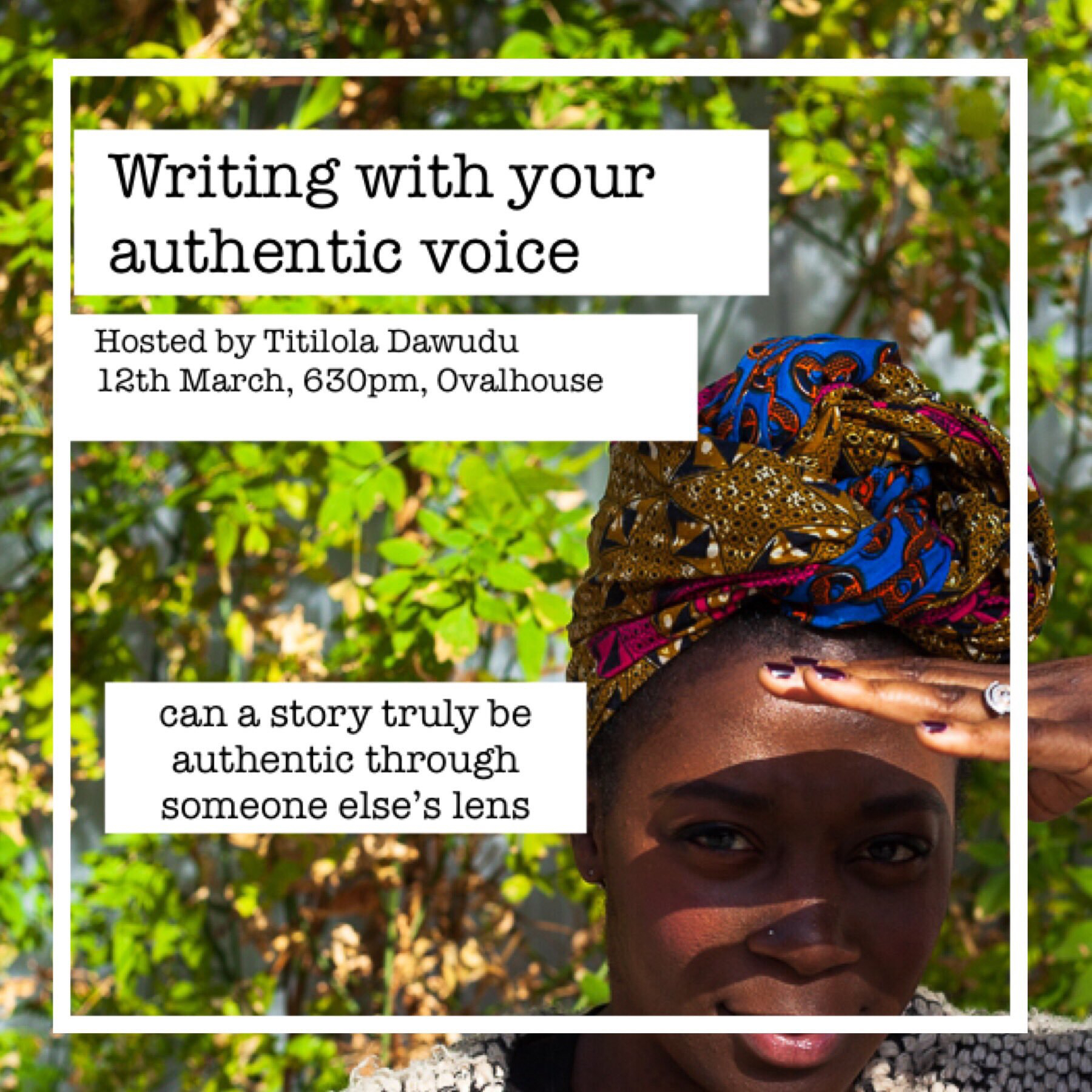 Writing with Your Authentic Voice workshop, 2019