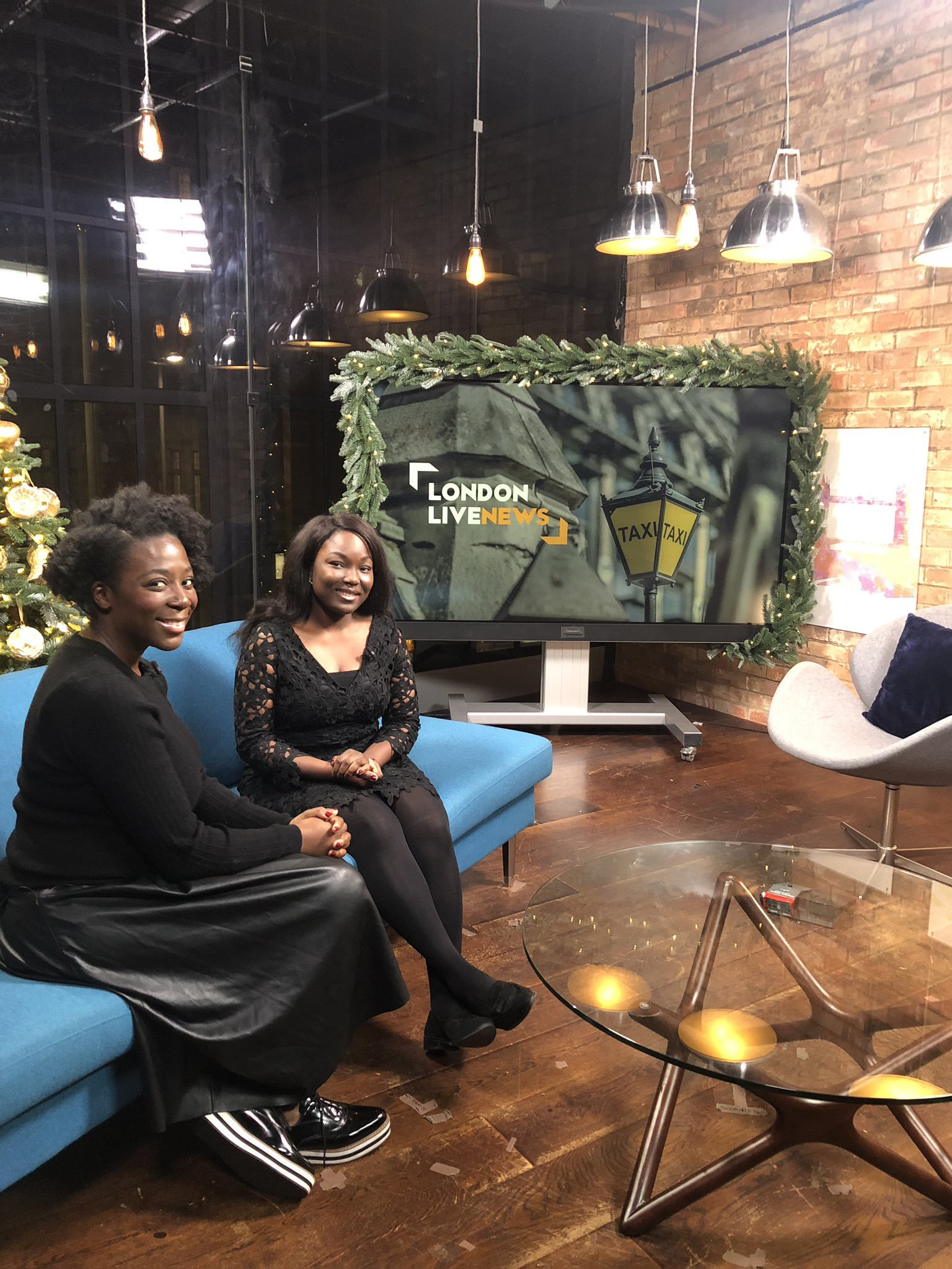 Interview on London Live, 2018