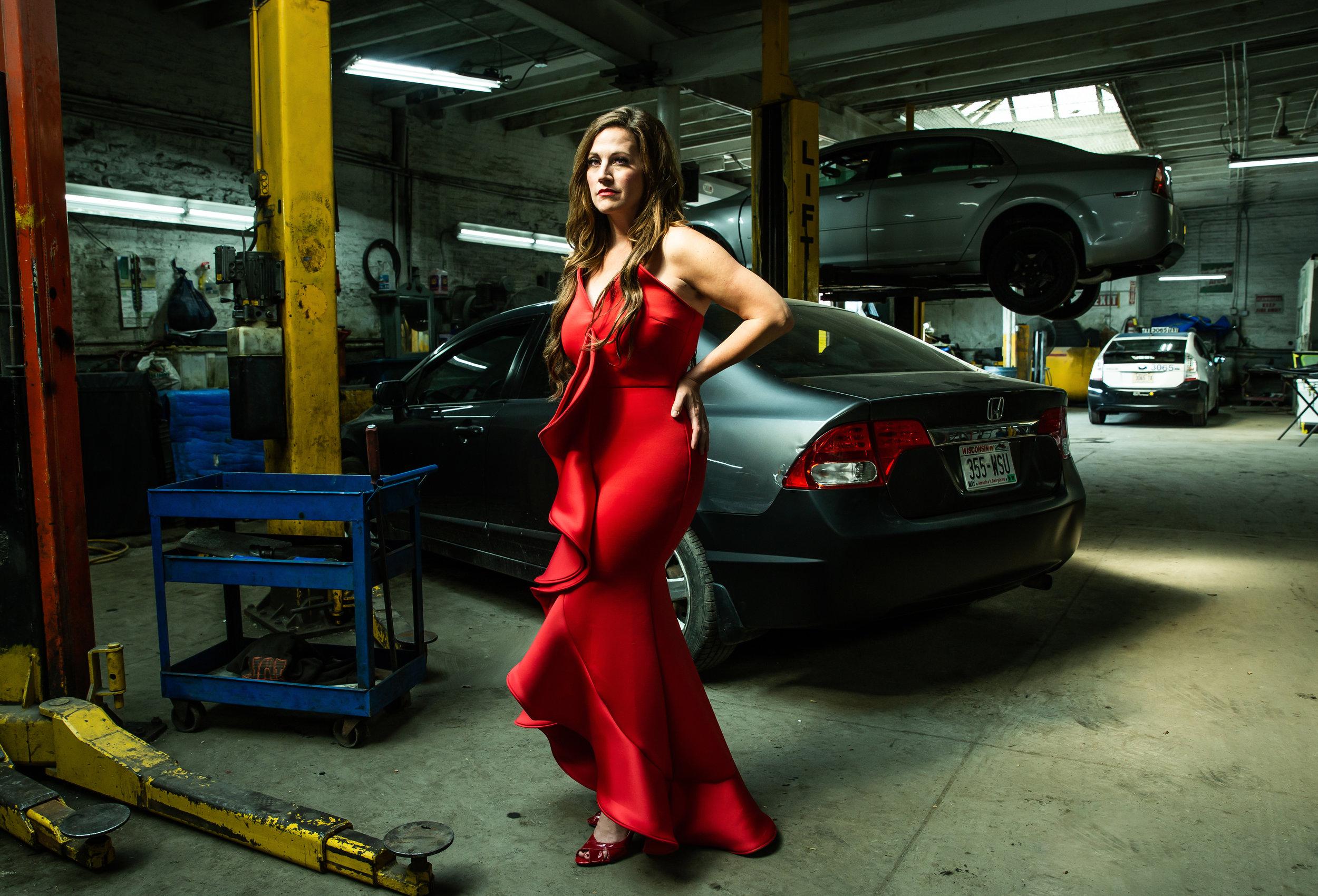 Red Dress #9