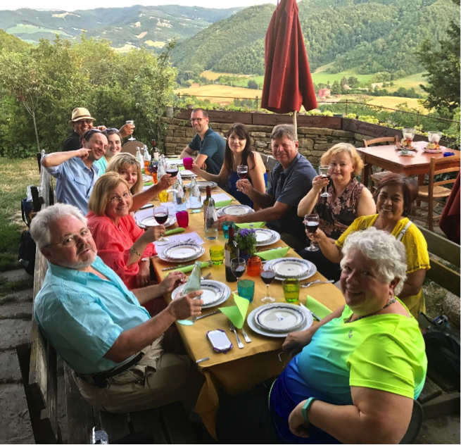 Lunch at Castello della Pieve - Lunch at the medieval castle, set 550 meters above sea level in the municipal area of Mercatello sul Metauro. In 1301 Dante Alighieri's exile was decreed from this tiny village.