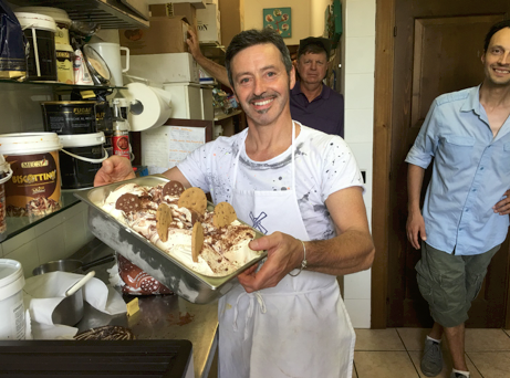 Gelato Class with Master Francesco in his Caffe del Corso - established in 1814. You simply can't come to Italy without tasting gelato. But what's better than tasting gelato? Making gelato! This class will teach you the art and science of making gelato. Try your hand at finding the perfect flavor.