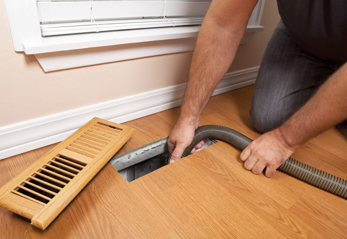 Air Duct Cleaning -