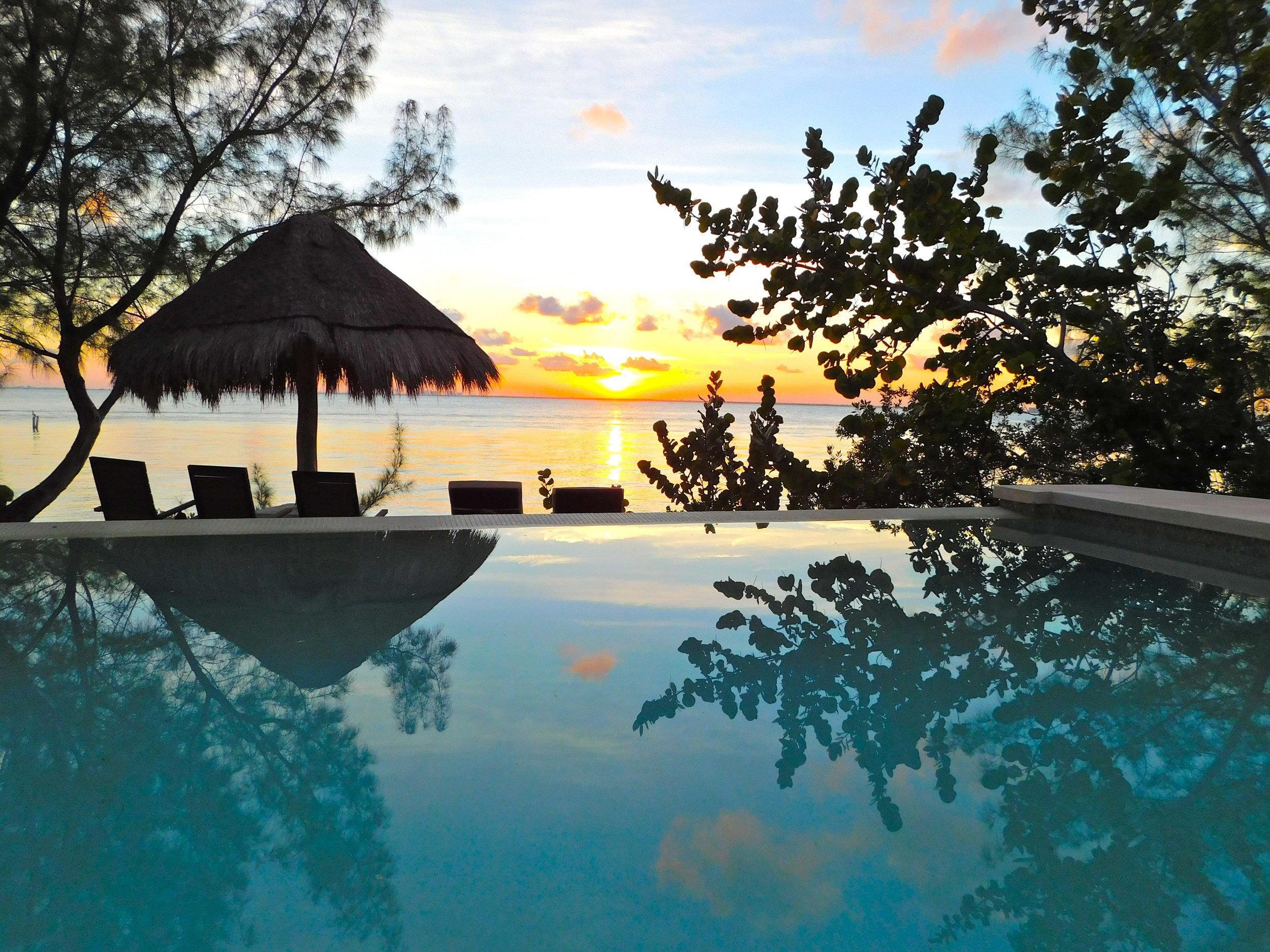 VE deep blue pool sunset.JPG
